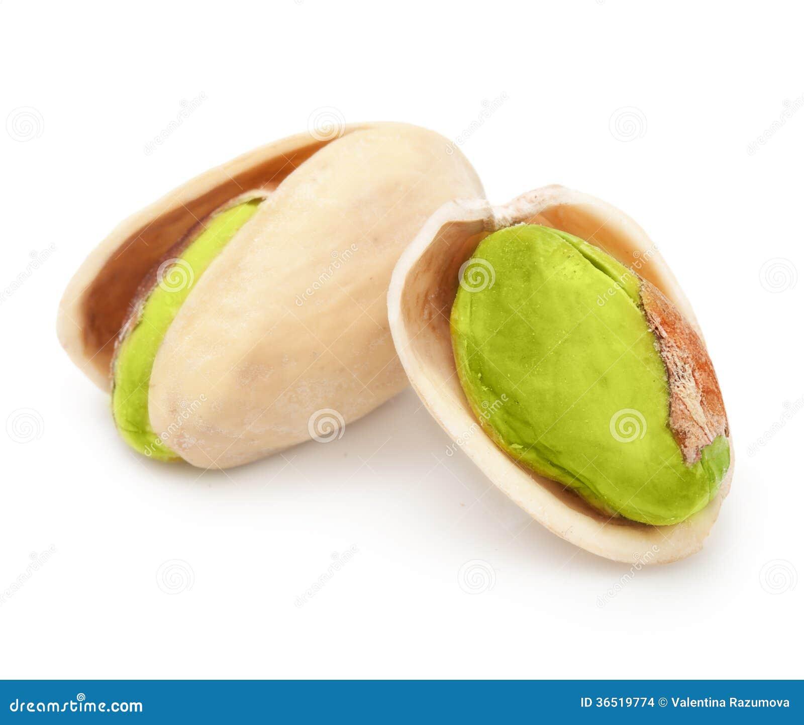 Geïsoleerde pistachenoten
