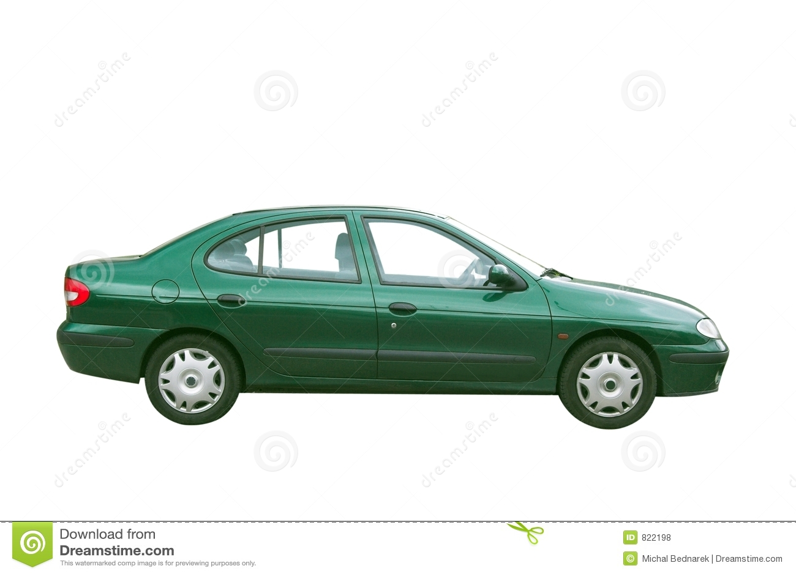 Geïsoleerdeg auto