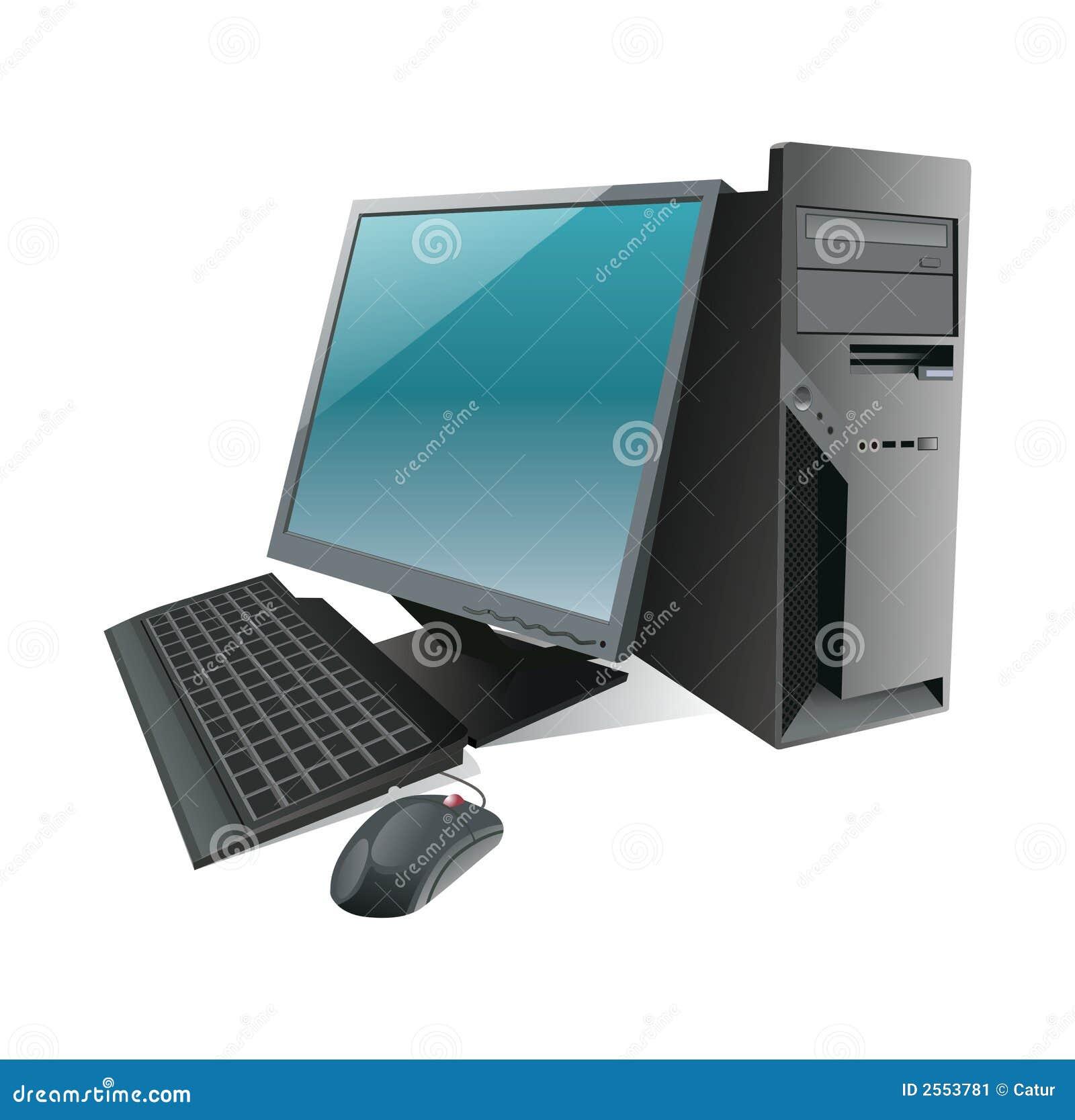 Geïsoleerdel Computer