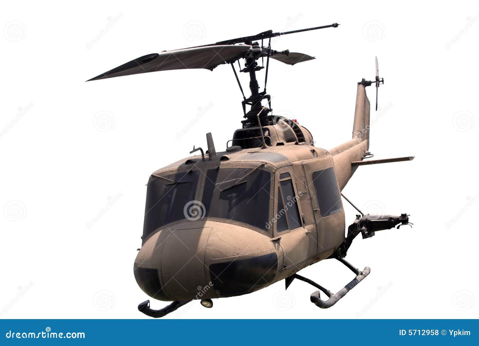 Geïsoleerdeo helikopter