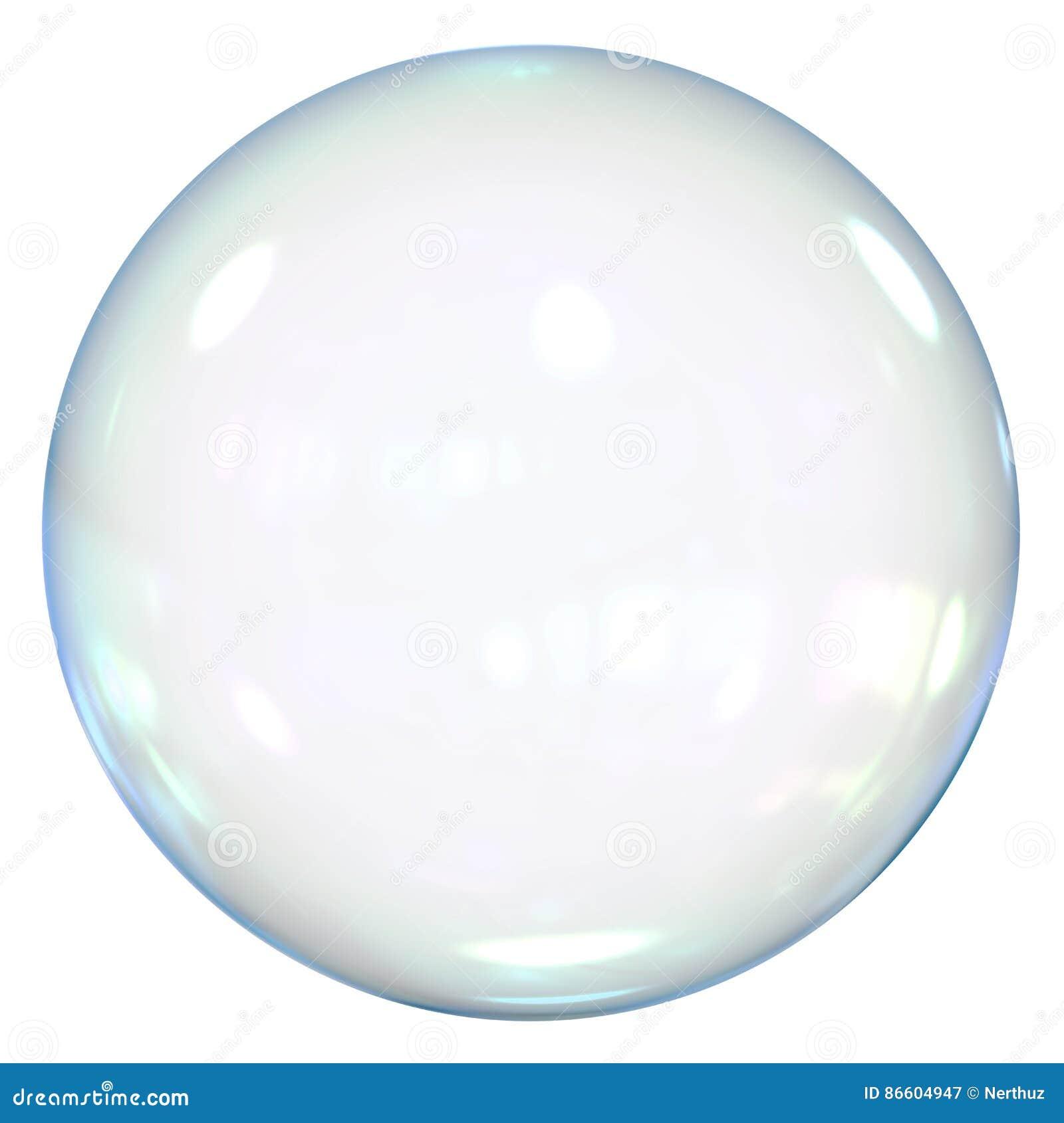 Geïsoleerder zeepbel