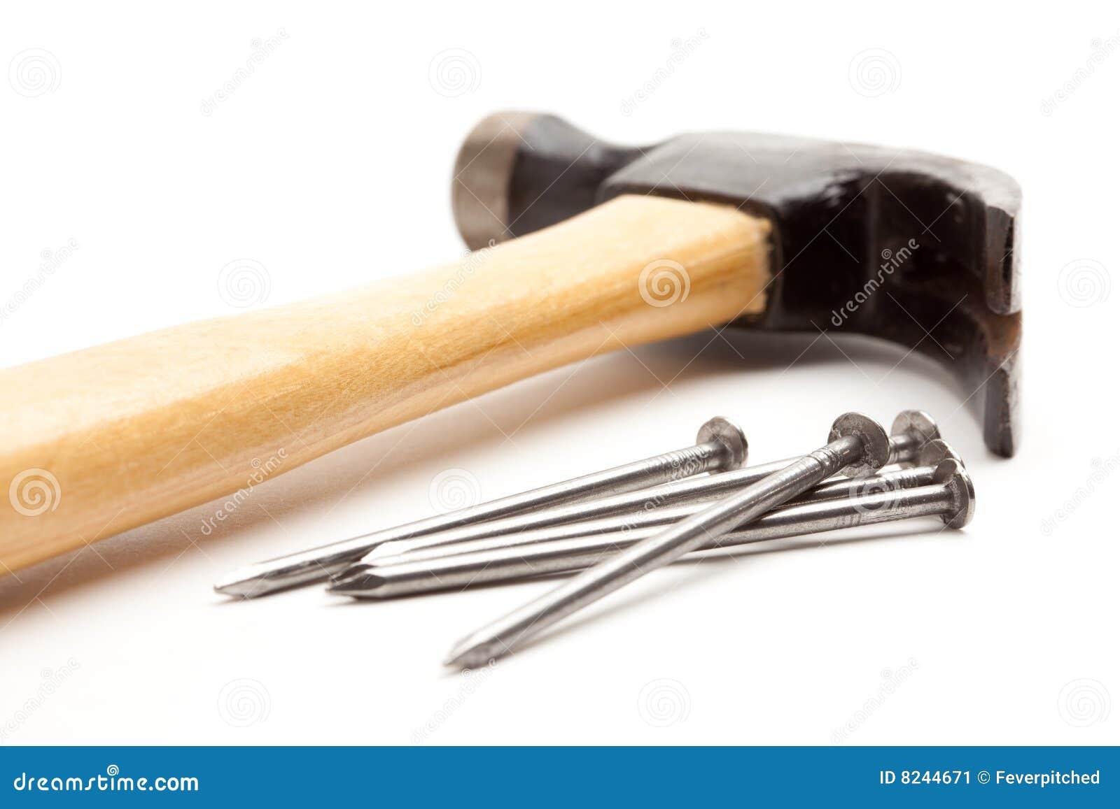 Geïsoleerdes hamer en Spijkers