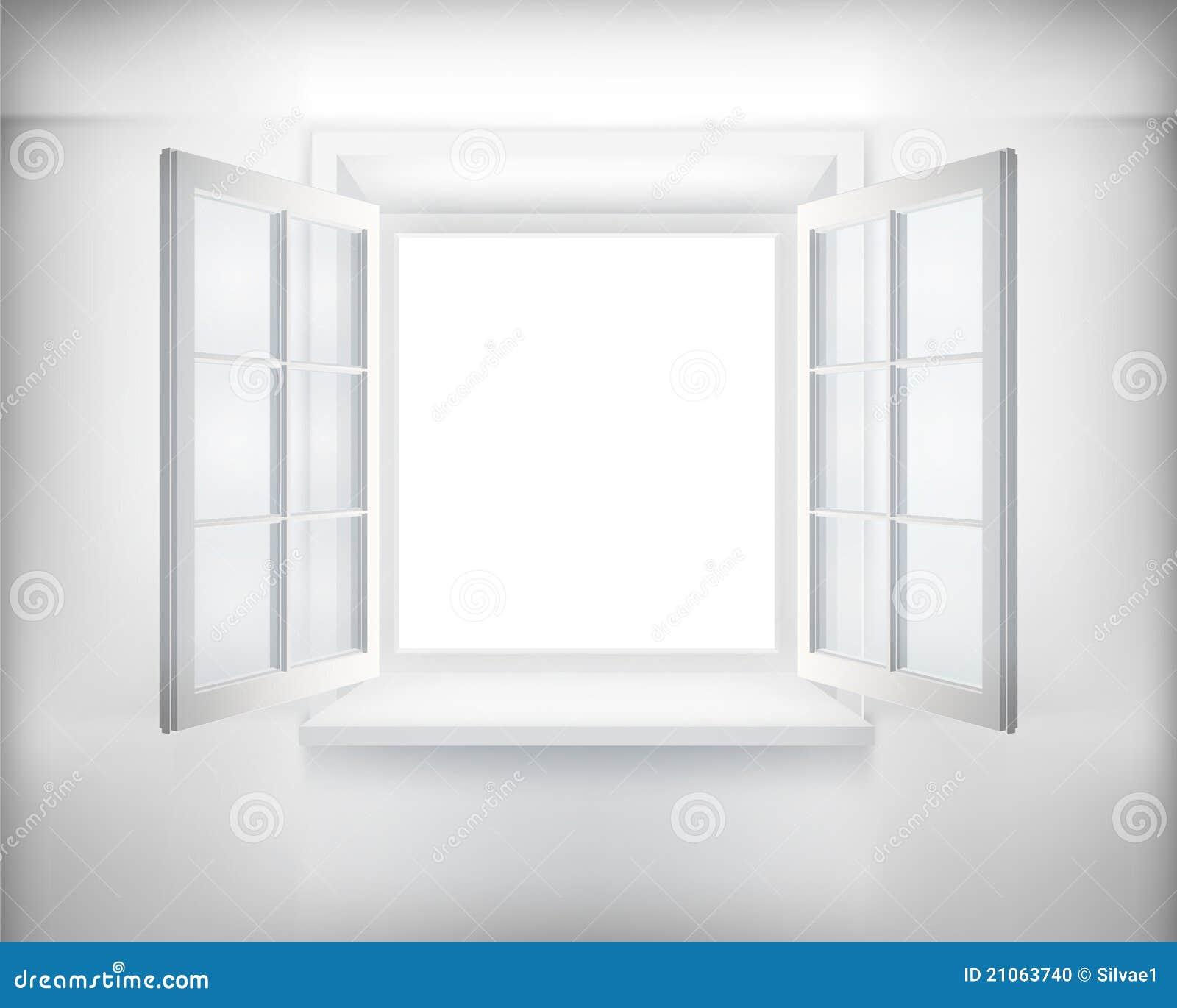 ge ffnetes fenster stockfoto bild 21063740. Black Bedroom Furniture Sets. Home Design Ideas