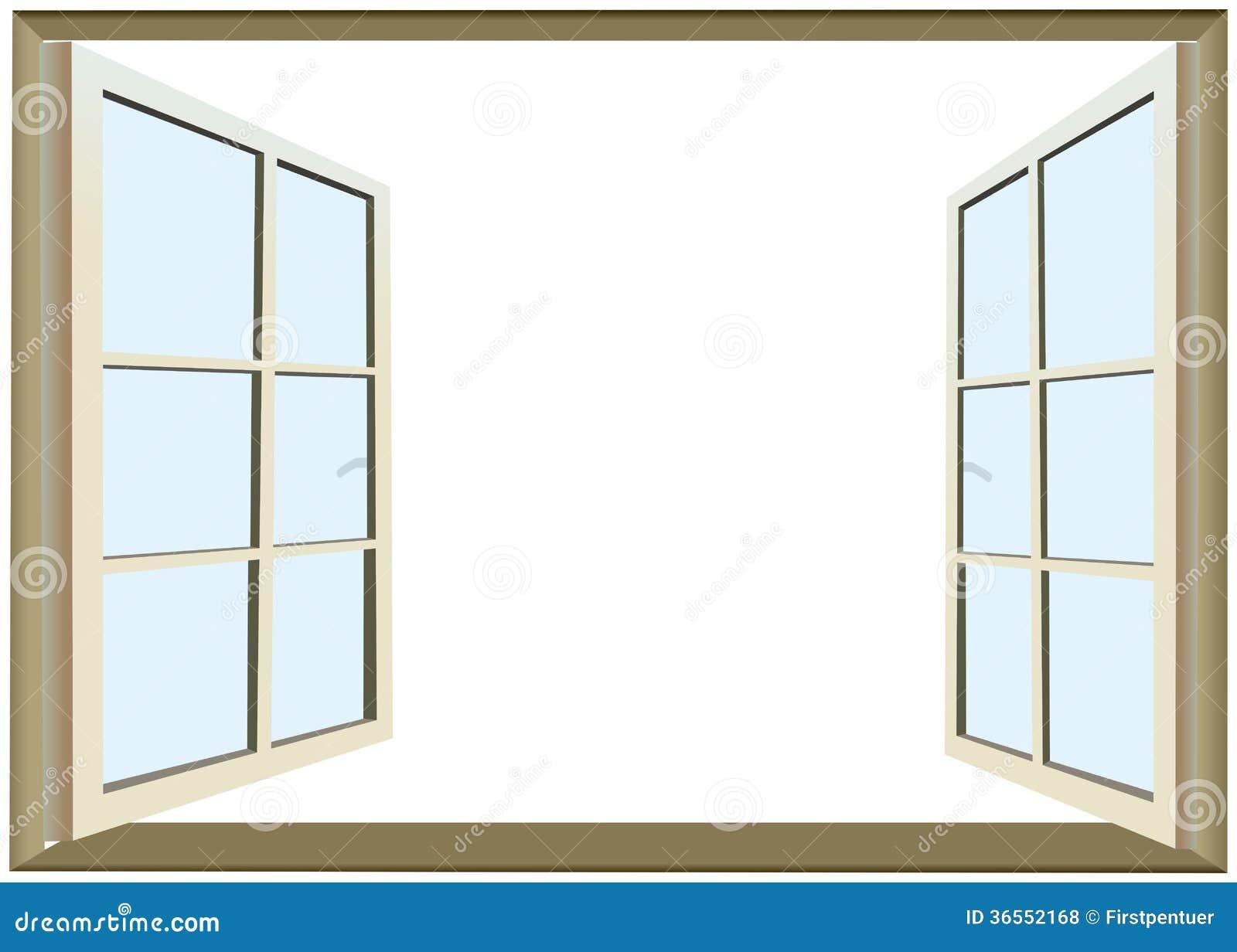 ge ffnetes fenster mit leerem raum f r text lizenzfreie stockfotos bild 36552168. Black Bedroom Furniture Sets. Home Design Ideas