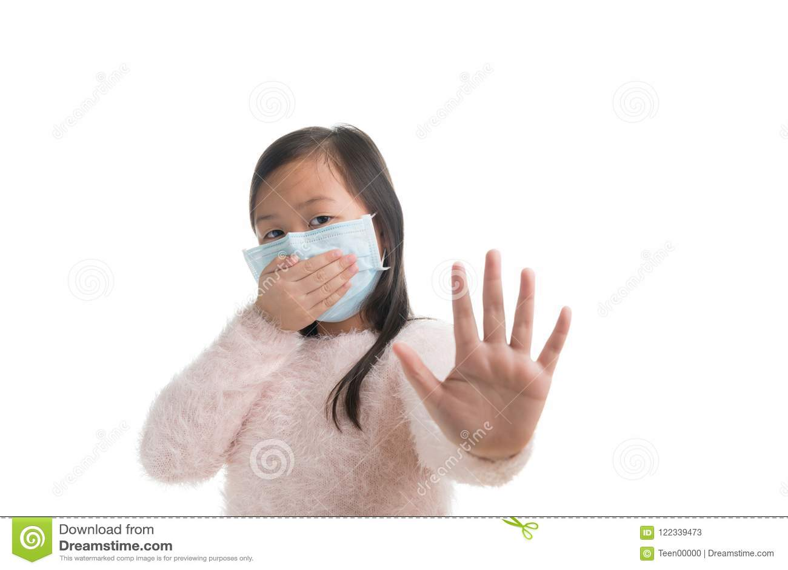 masque protection grippe enfant