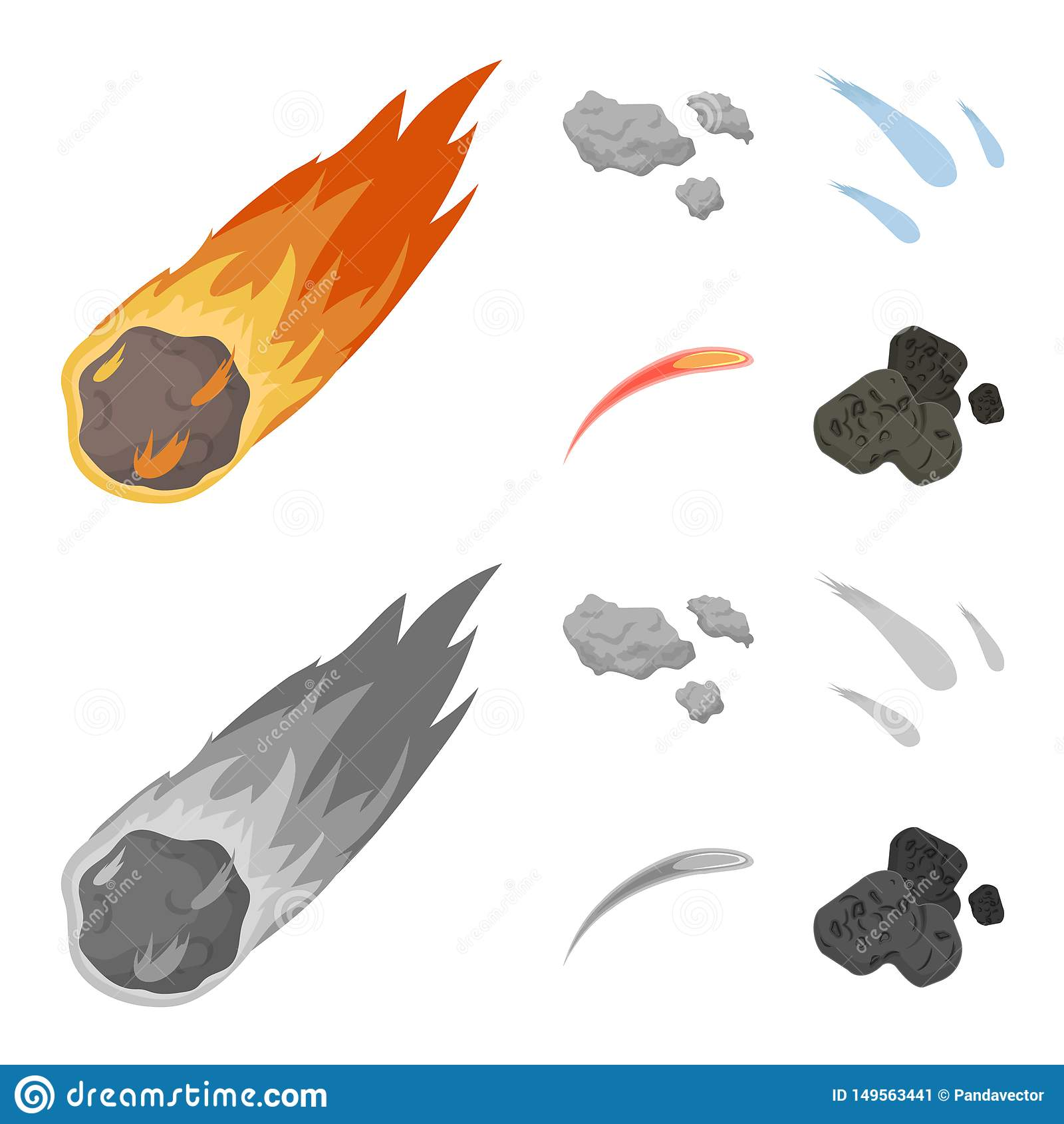 Ge?soleerd voorwerp van het schieten en brandsymbool Inzameling van het schieten en stervormig vectorpictogram voor voorraad
