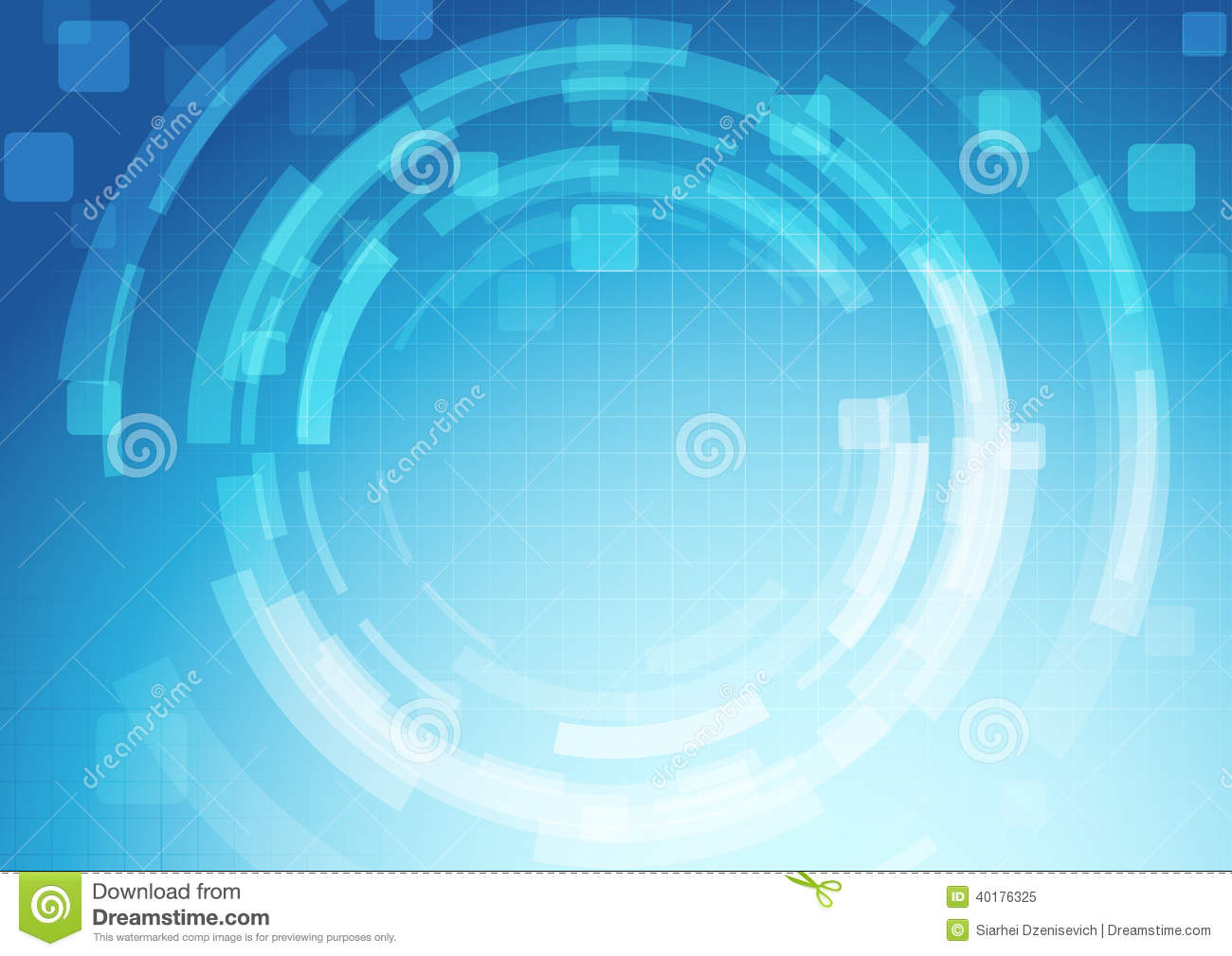 gear abstract technology background template illustration 40176325