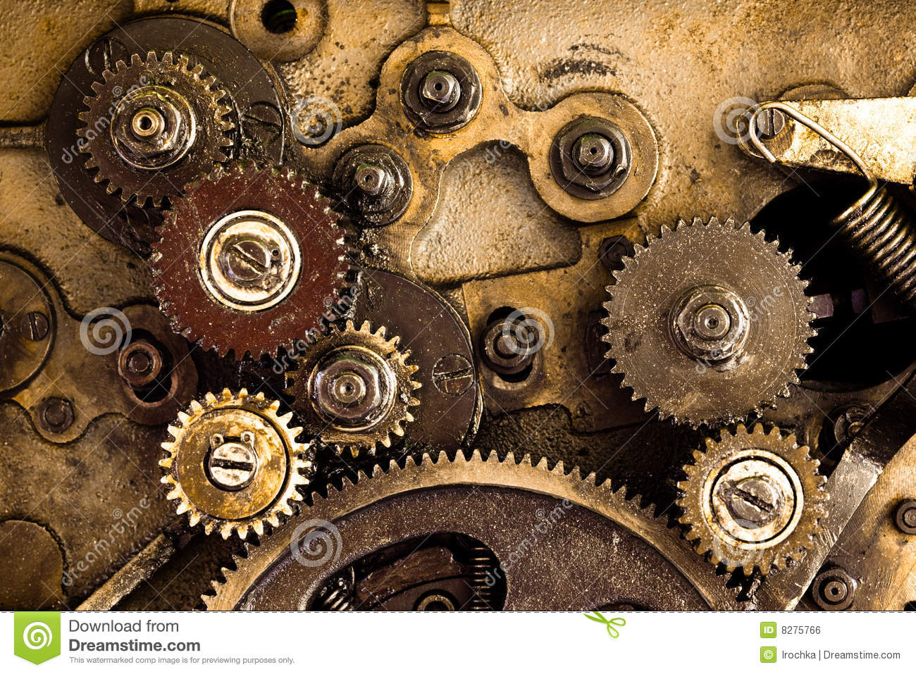 Gear Background Royalty Free Stock Image - Image: 8275766