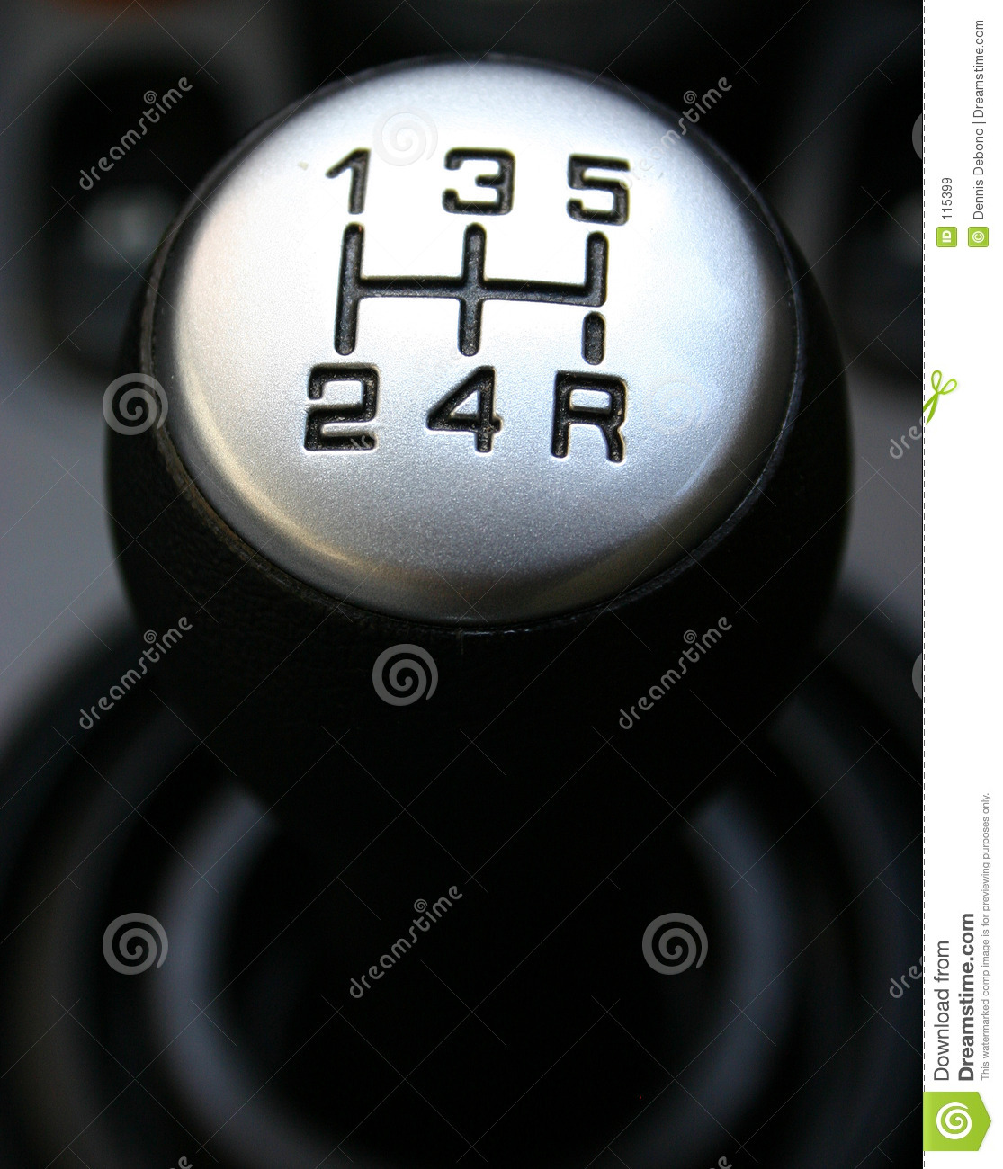 Gear Lever Royalty Free Stock Images