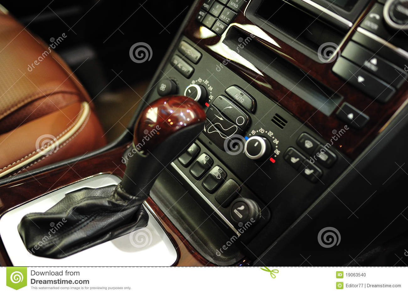 Manual car gear lever