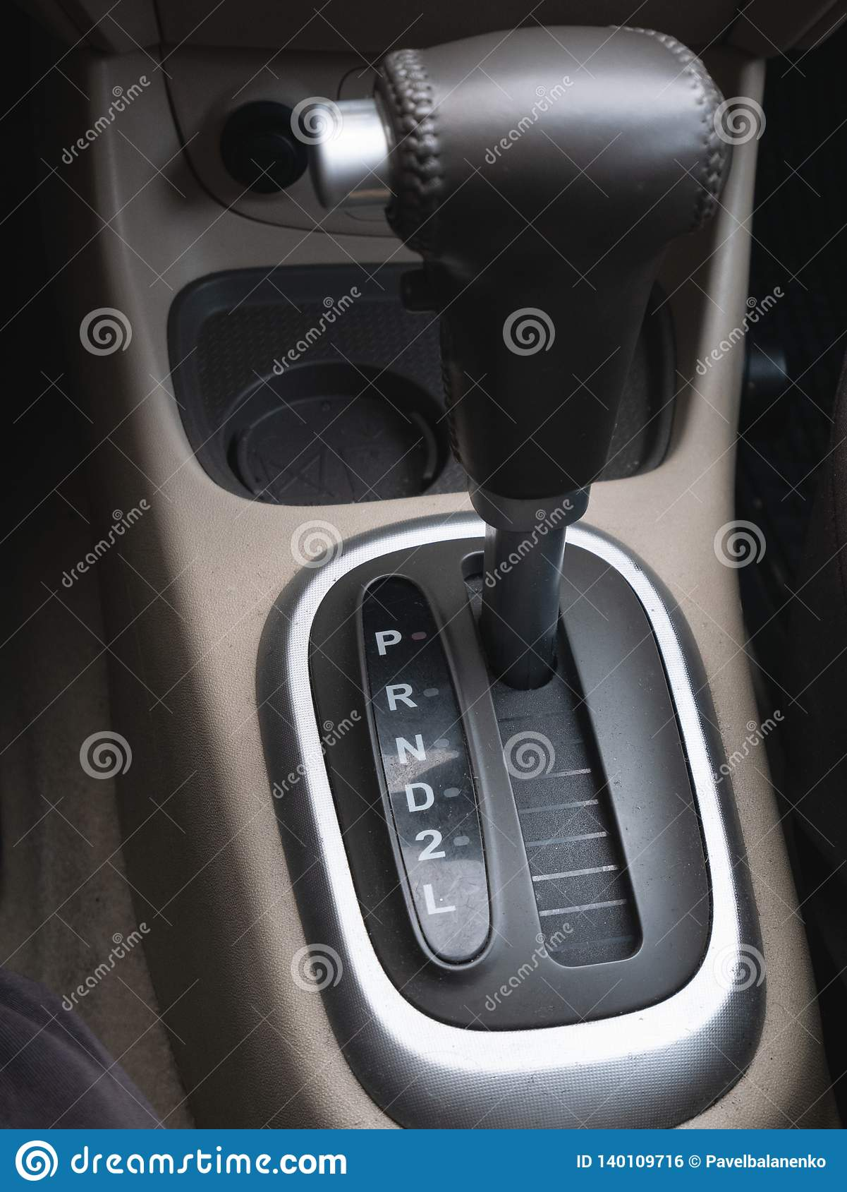 Gear lever automatic transmission