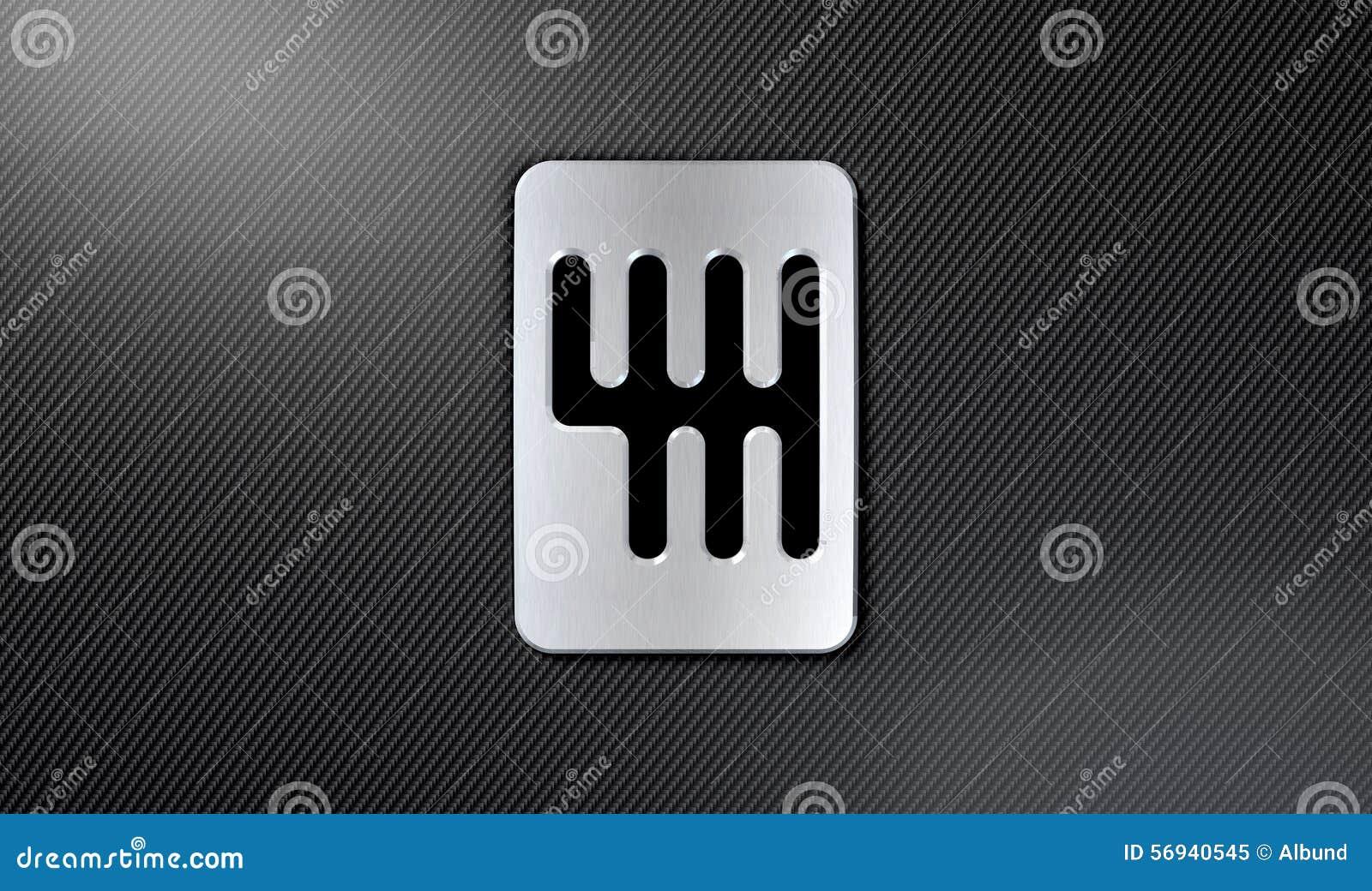 Gear Stick Shift Plate