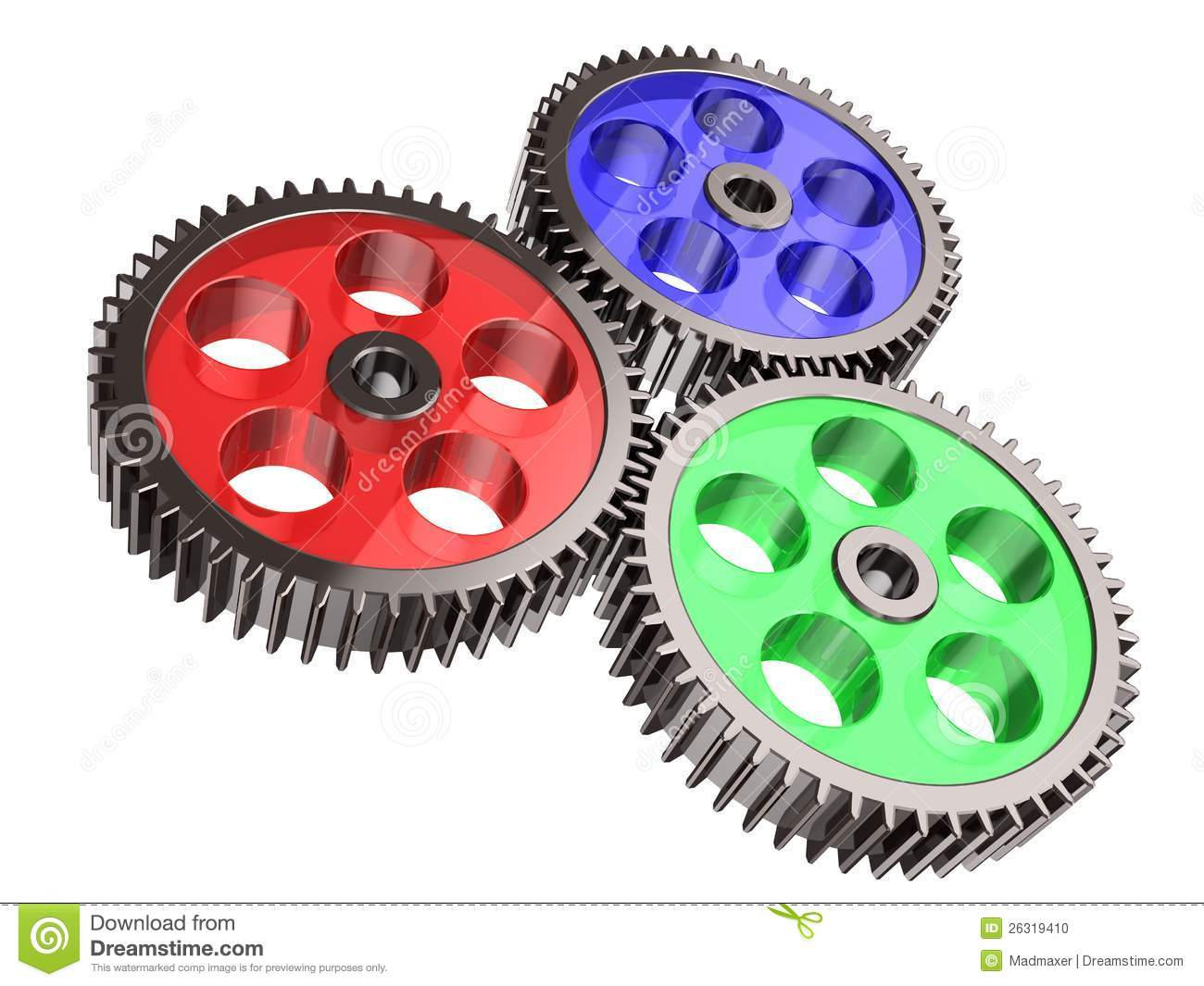 Gear System Stock Photo Image 26319410