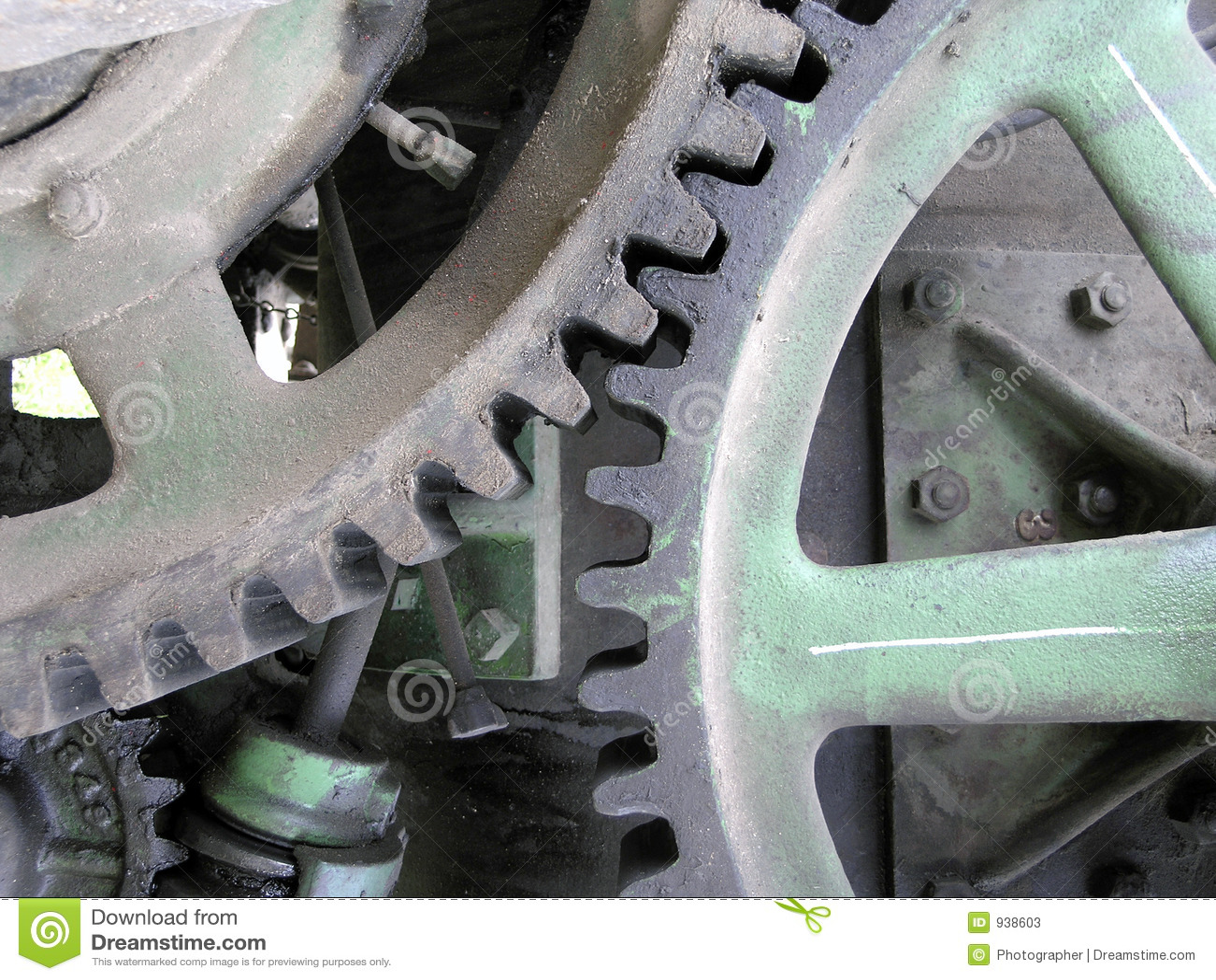Gear Teeth Meshing Stock Photos - Image: 938603
