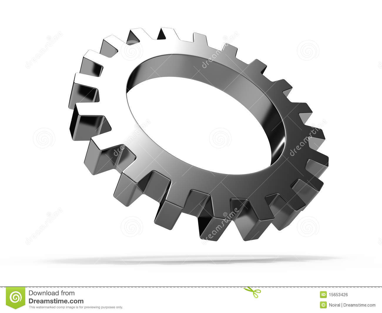 Gear Wheel Royalty Free Stock Image - Image: 15653426