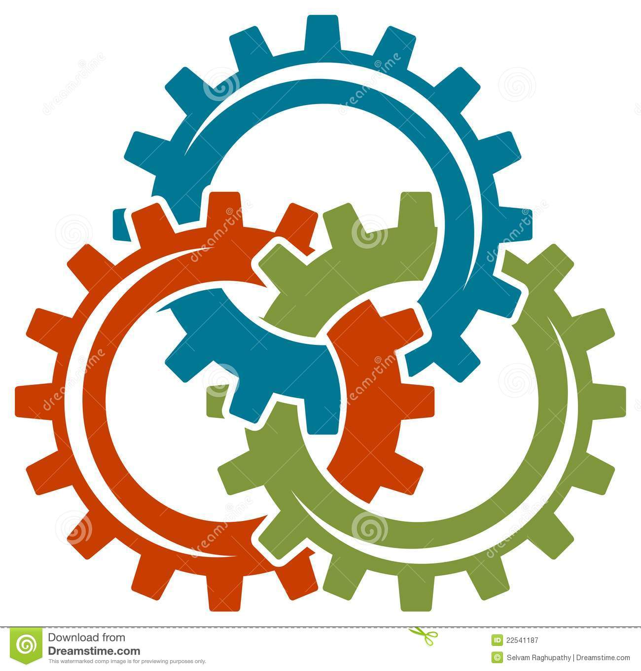 Gear wheels logo royalty free stock photography image for Logo clipart