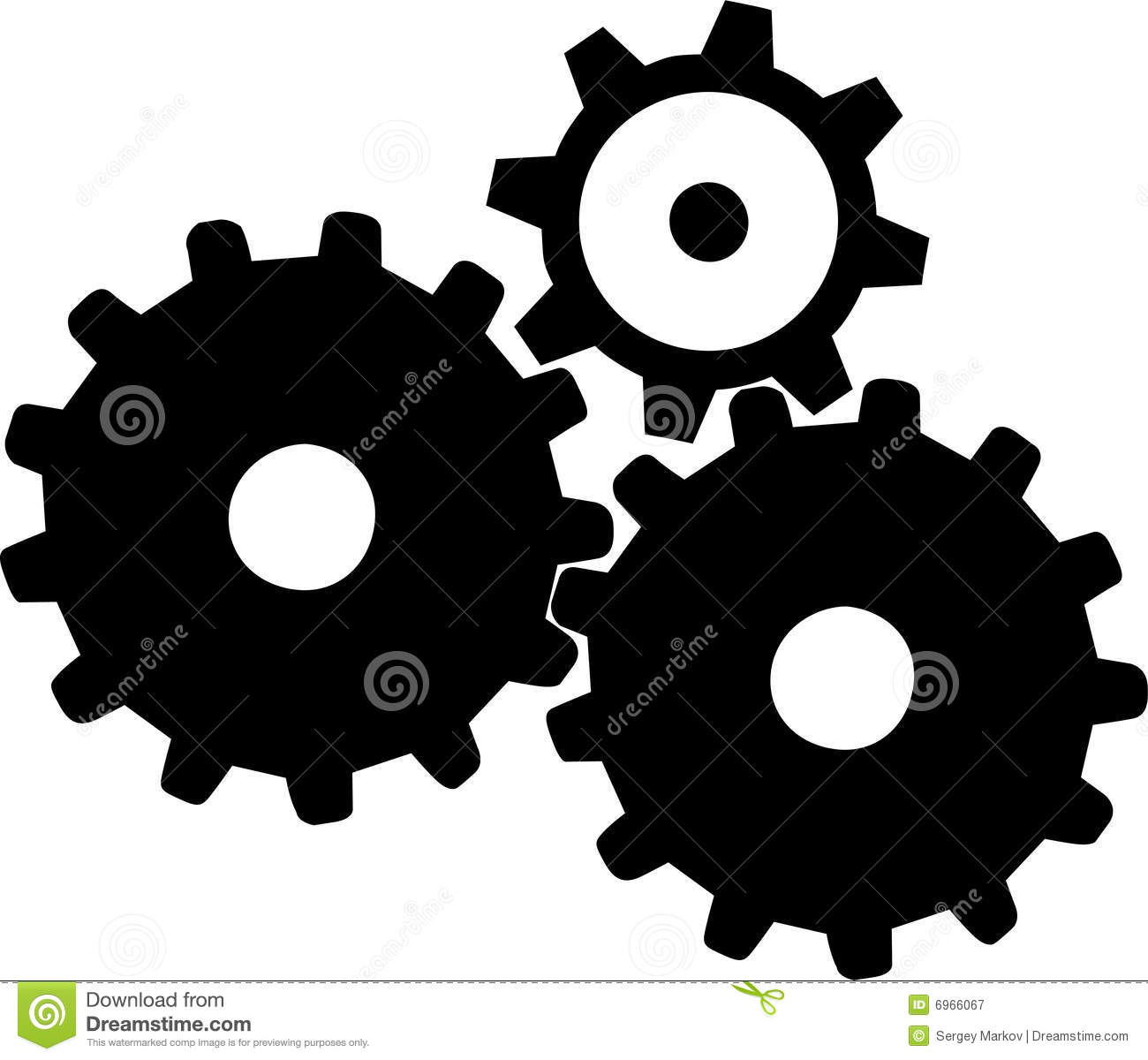 Gears - 1 Royalty Free Stock Photography