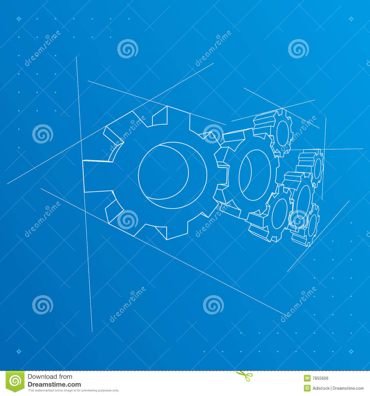 create a blueprint online free gears blueprint background vector royalty free stock 23402