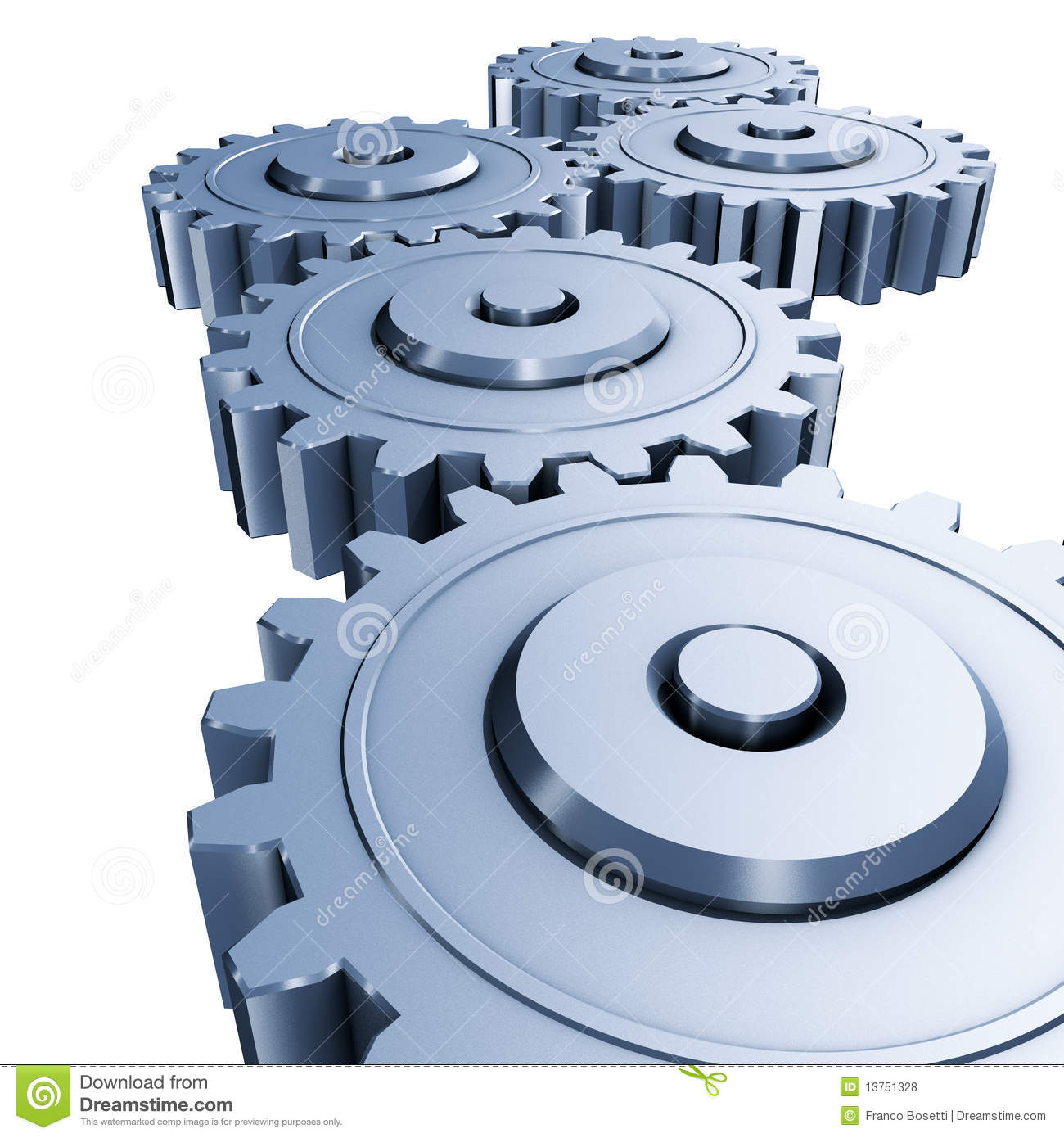 Gears Engineering Royalty Free Stock Photos - Image: 13751328