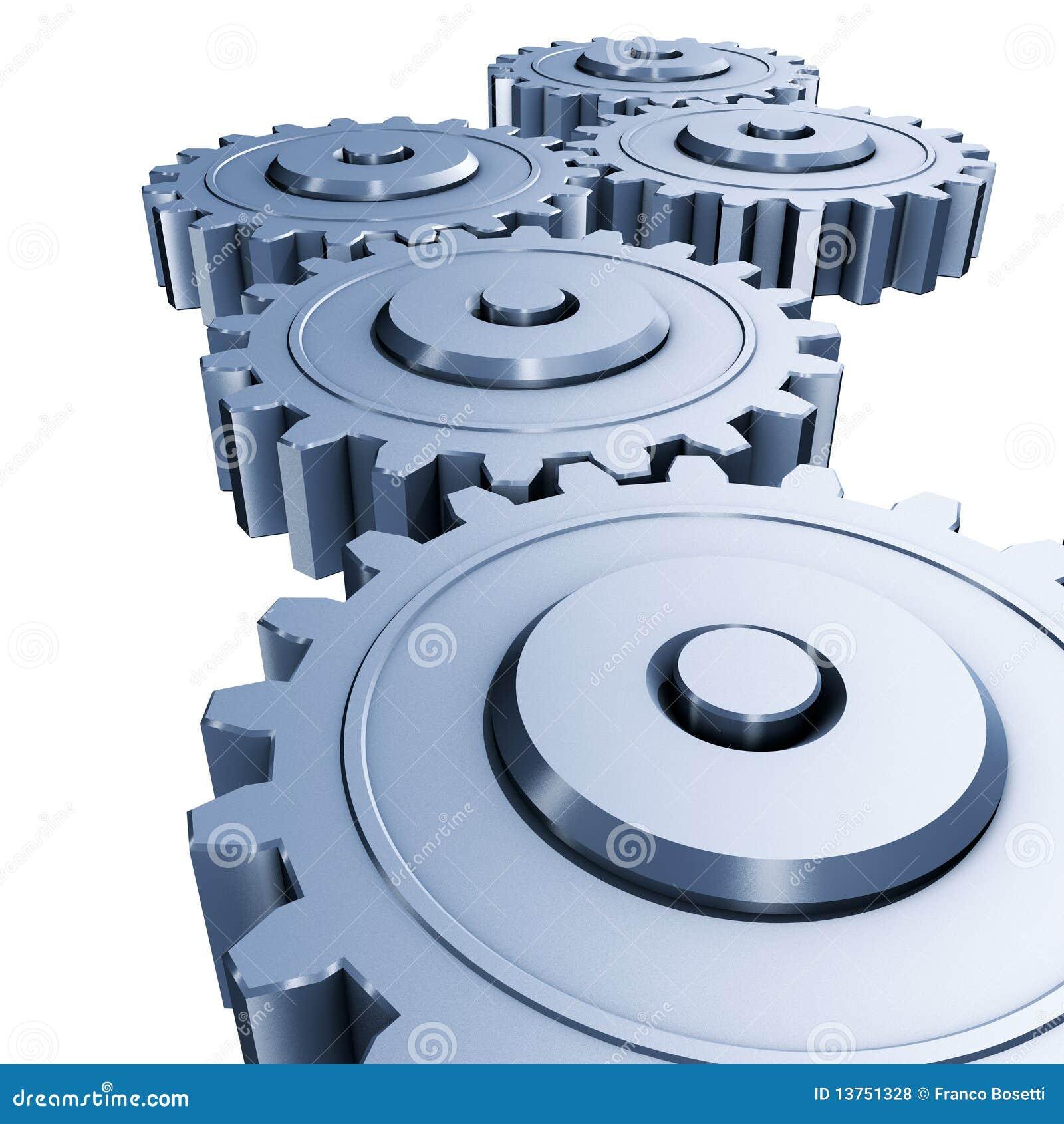 Gears Engineering Royalty Free Stock Photos - Image: 13751328