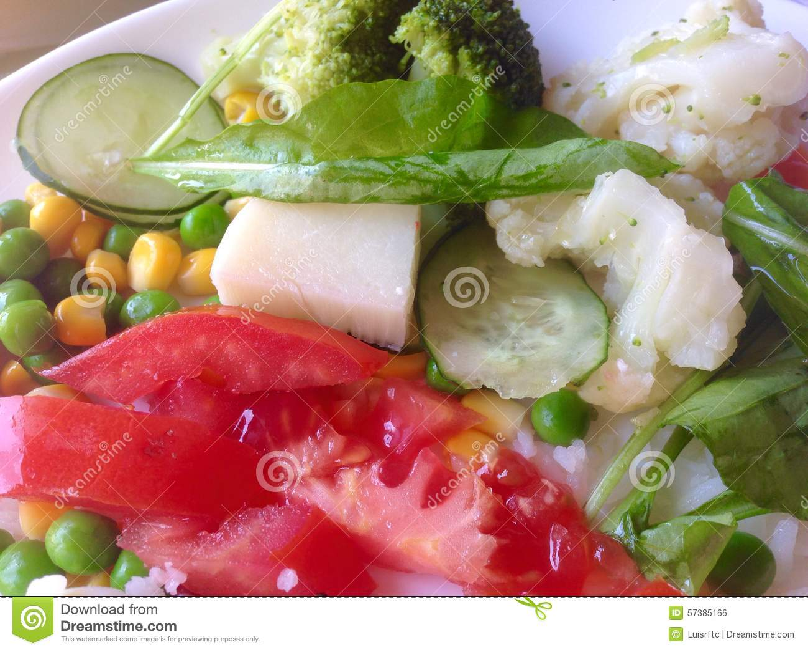 Geassorteerde groenten