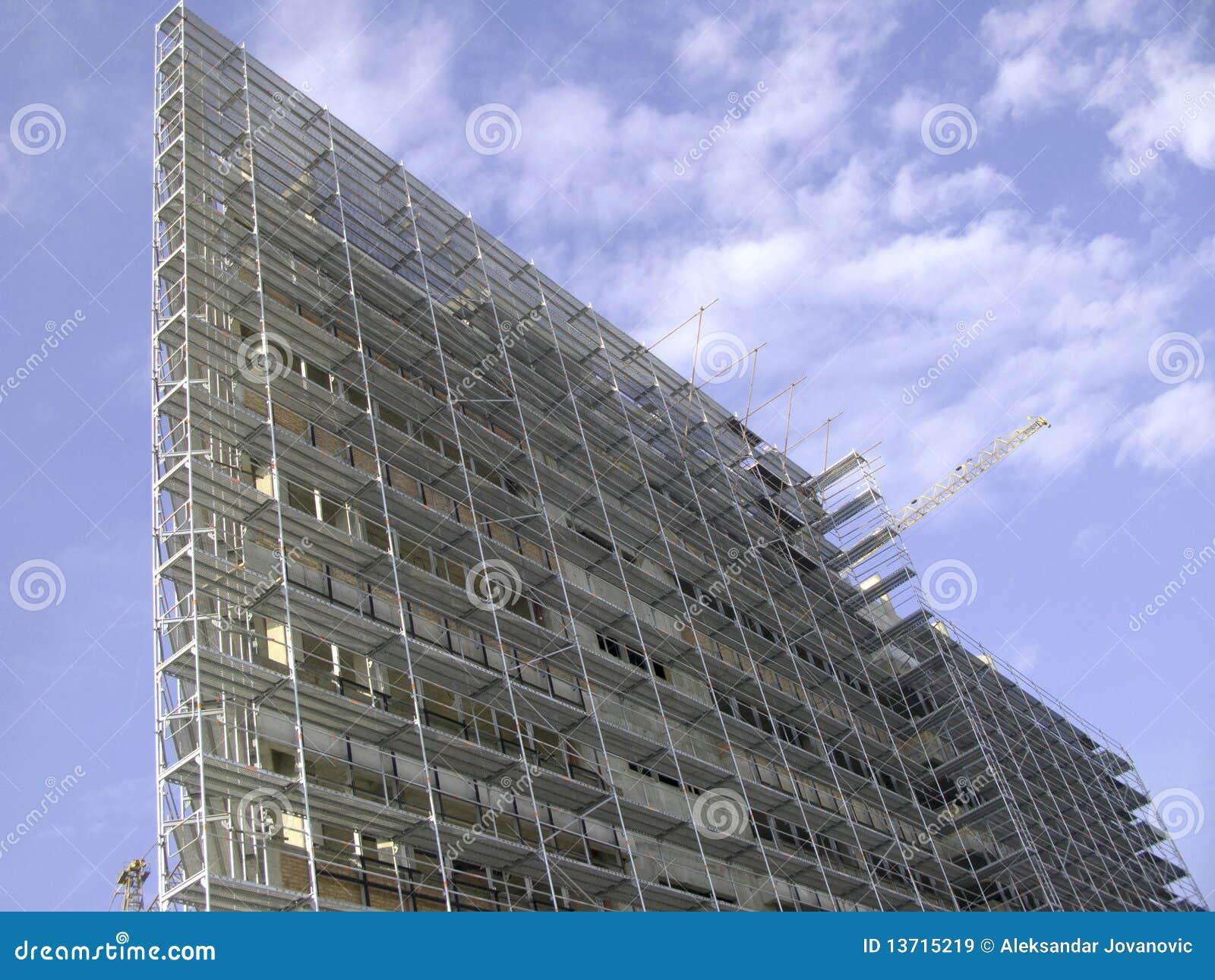 Gebäude der Wolkenkratzer