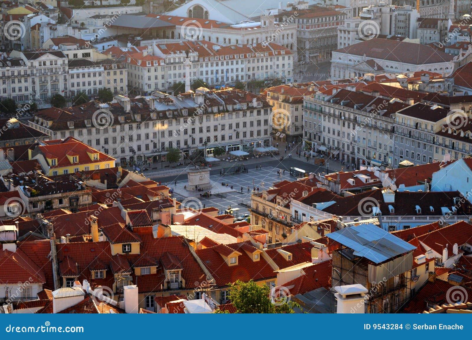 Gebäude in Lissabon Portugal