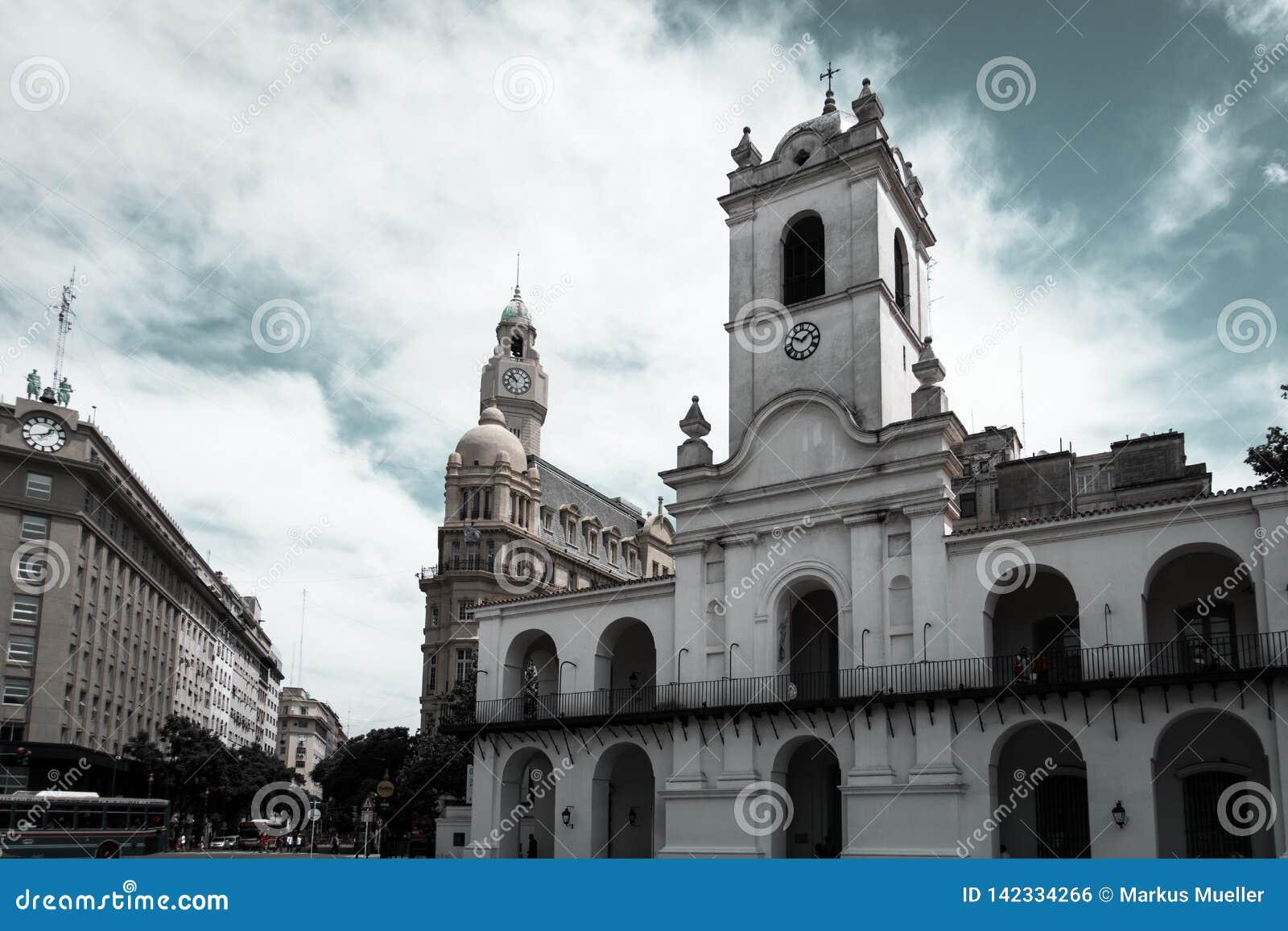Gebäude nahe Plaza de Mayo
