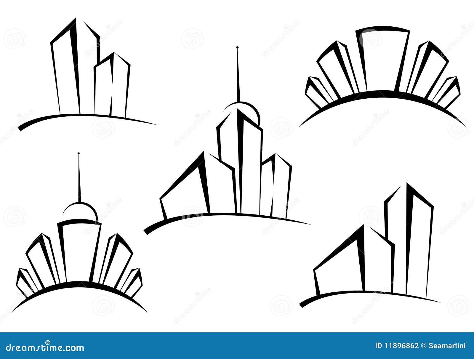 Gebäudesymbole