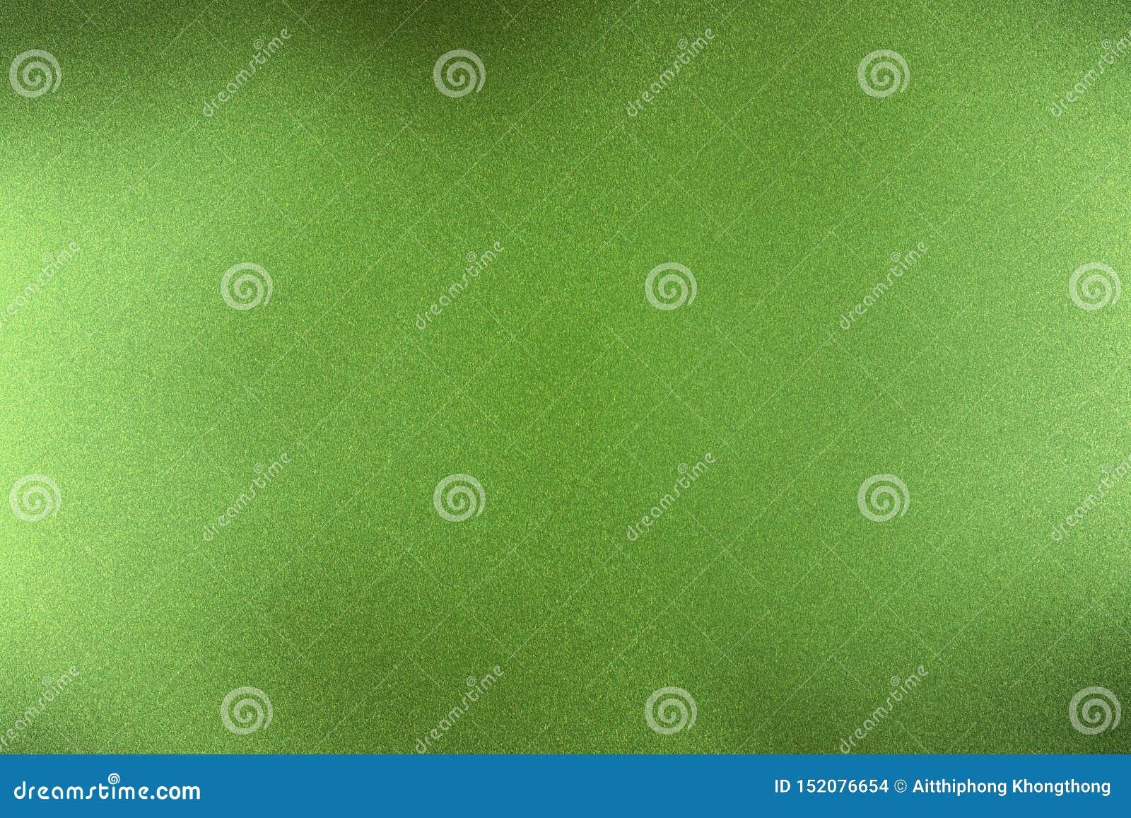 Gebürstete dunkelgrüne metallische Wand, abstrakter Beschaffenheitshintergrund