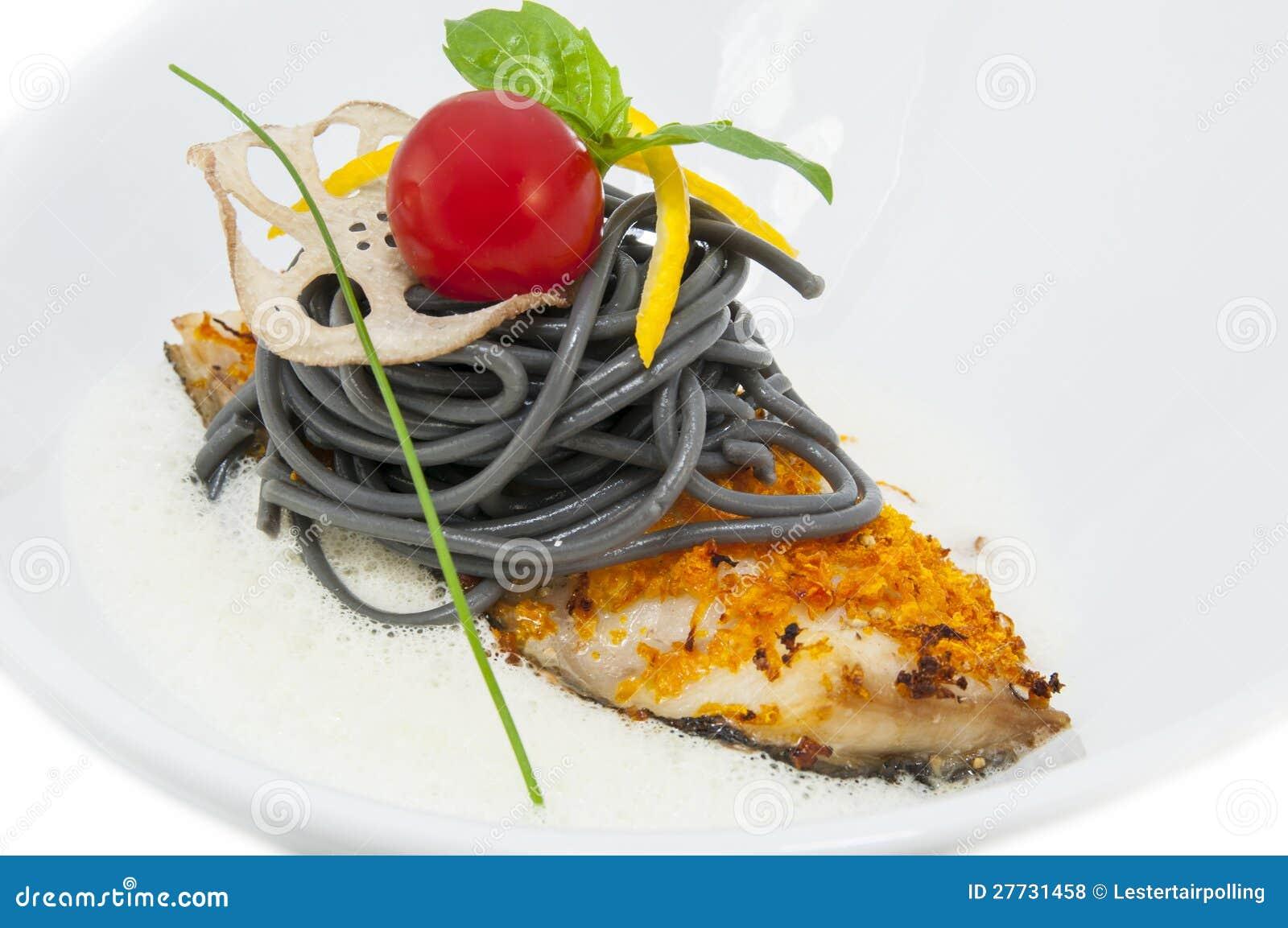 Gebackene Fischfilets