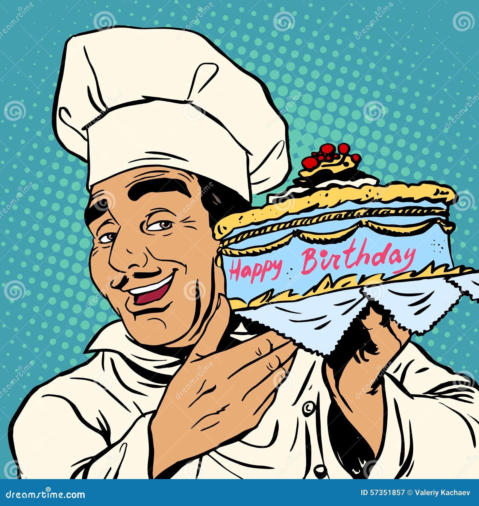 verjaardag man kok