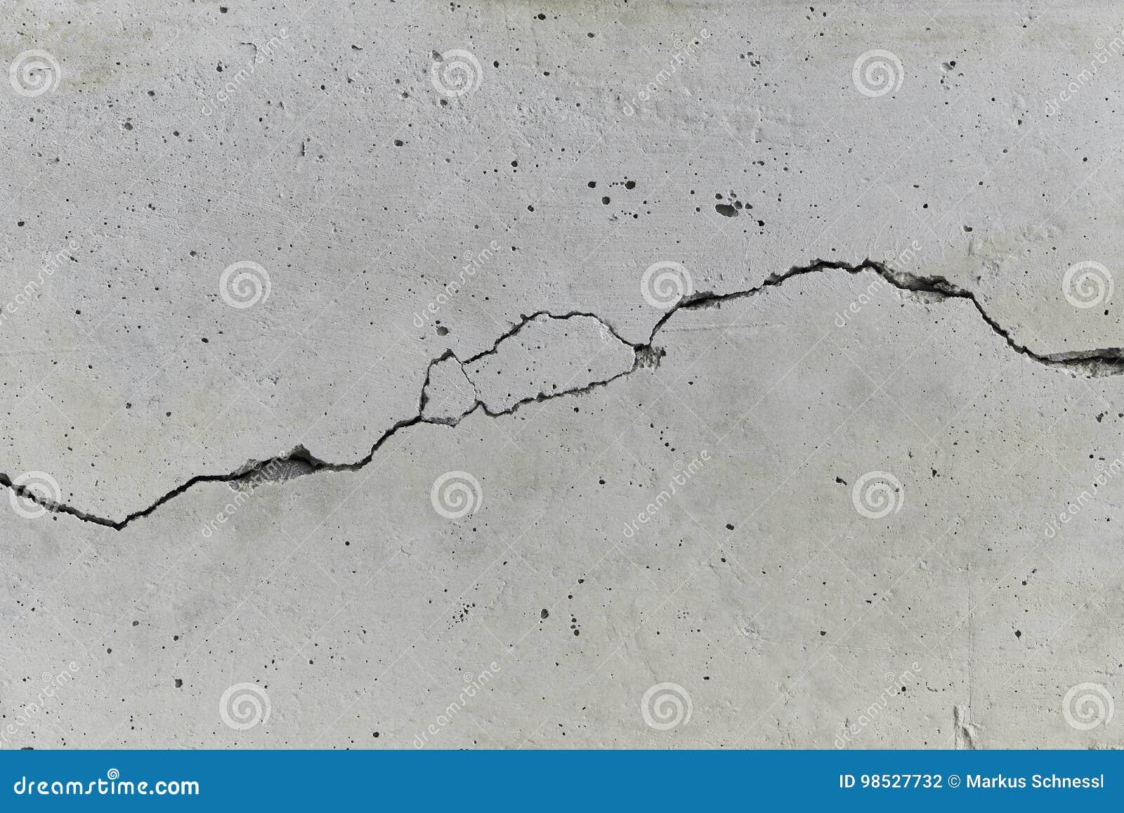 Gebarsten Concrete Muur