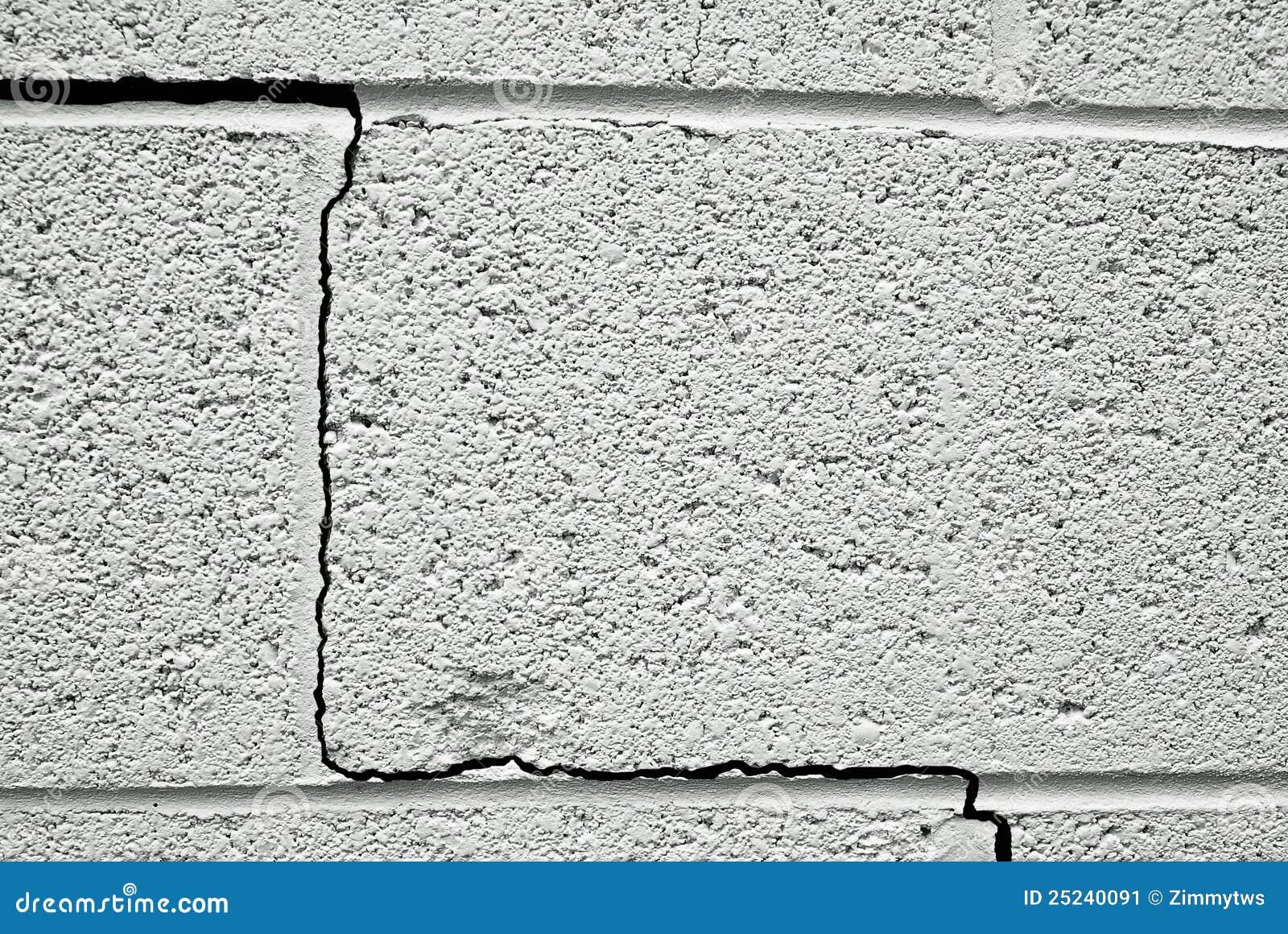 Gebarsten muur