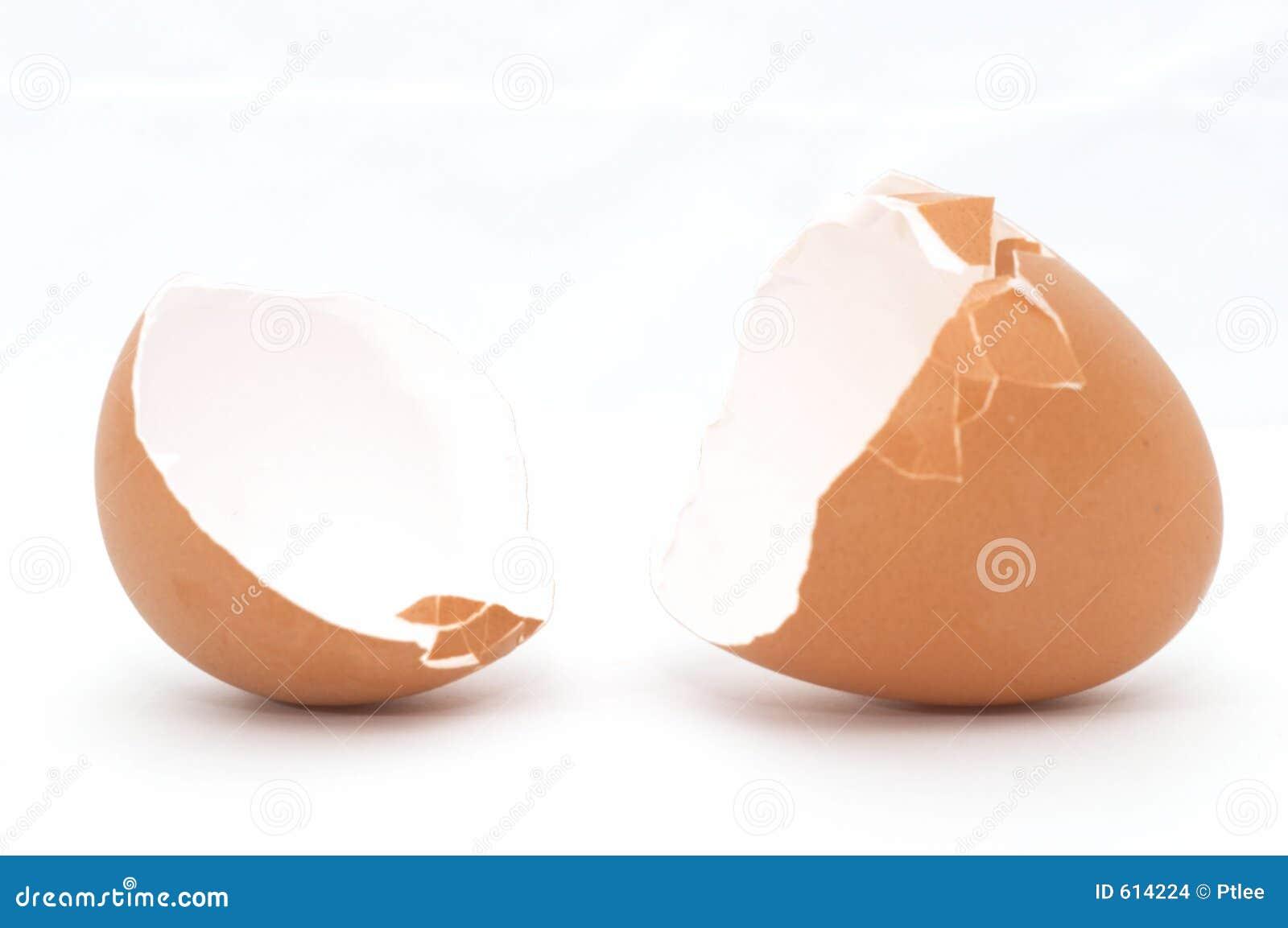 Gebarsten Open Ei