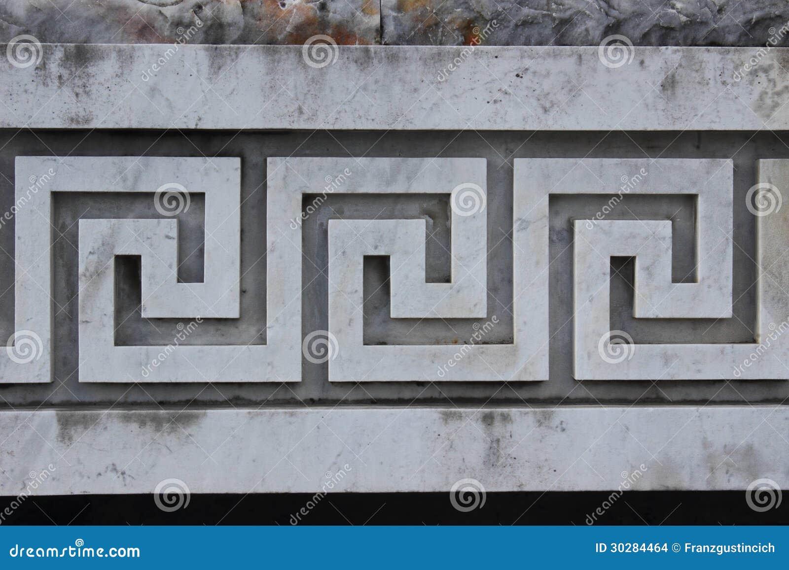 Oude griekse decoratie stock afbeeldingen afbeelding 30284464 - Oude griekse decoratie ...