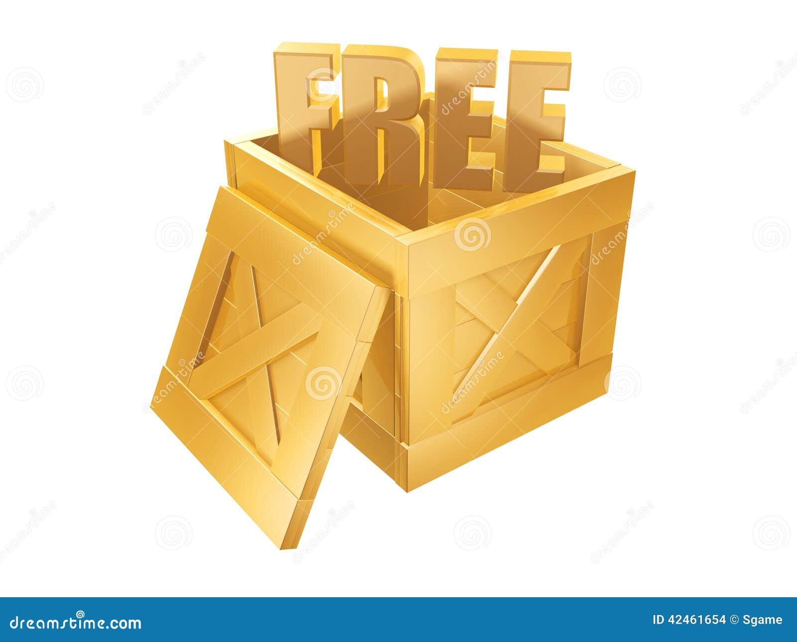 Geben Sie Verschiffen-Kasten frei