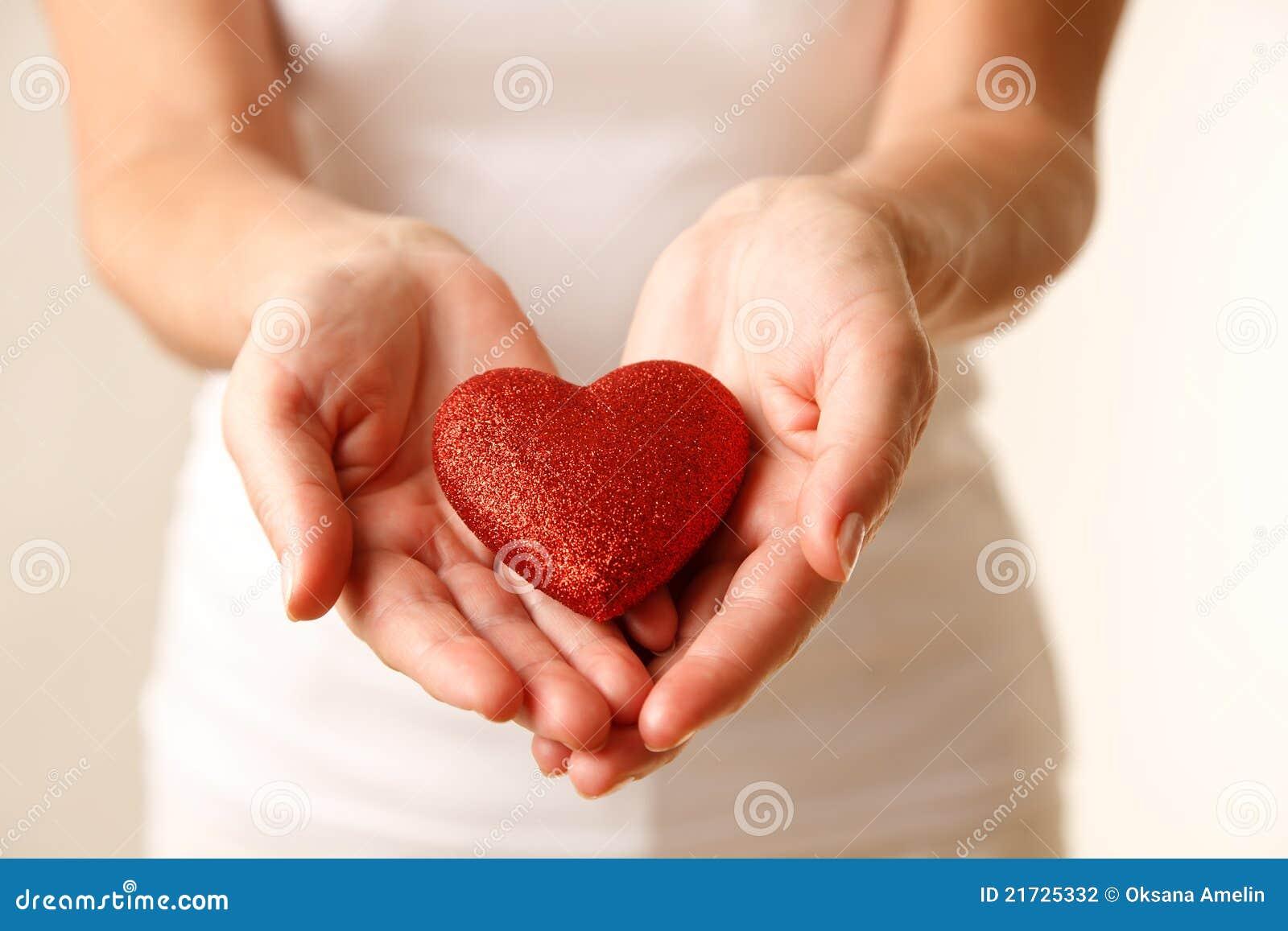Geben von Liebe