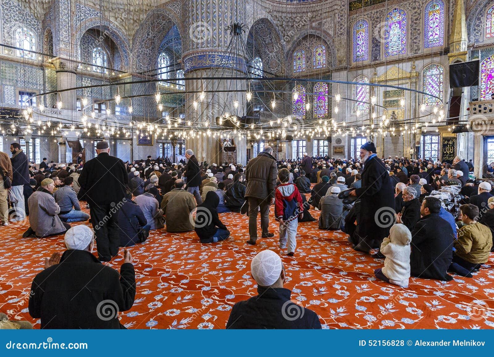 Moschee Gebet