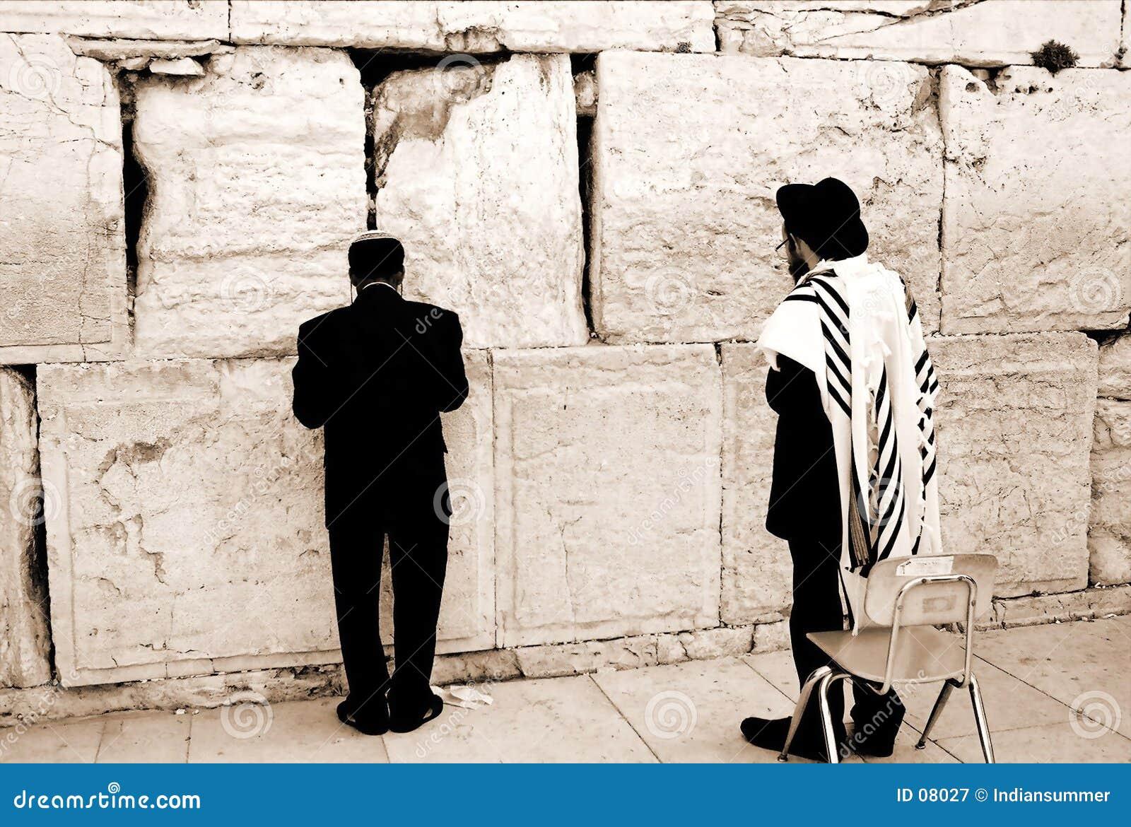 Gebet durch die westliche Wand