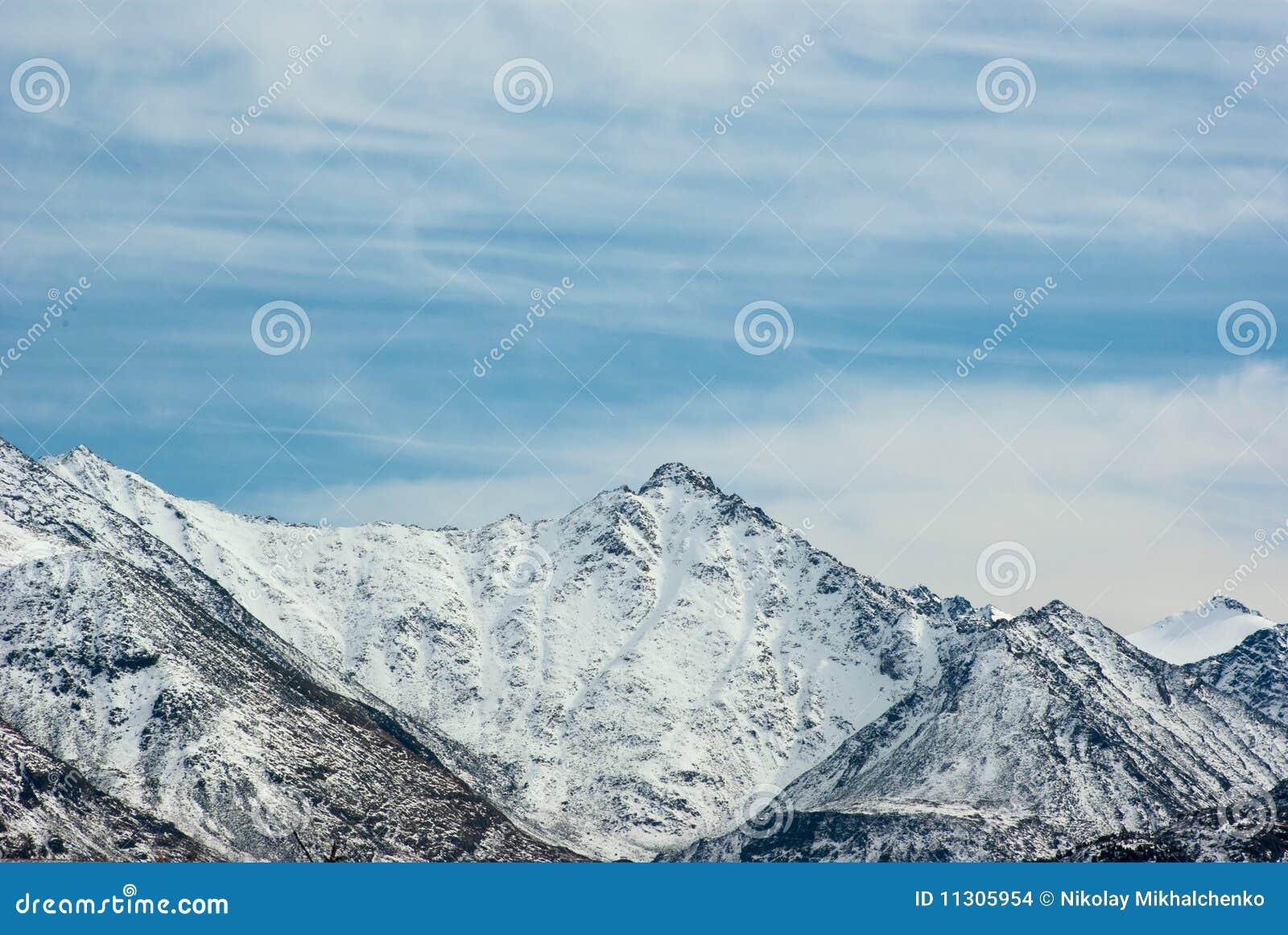 Gebirgsspitze