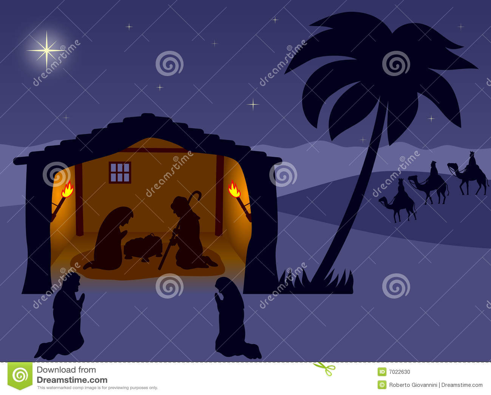 Geboorte van Christus. Wisemen