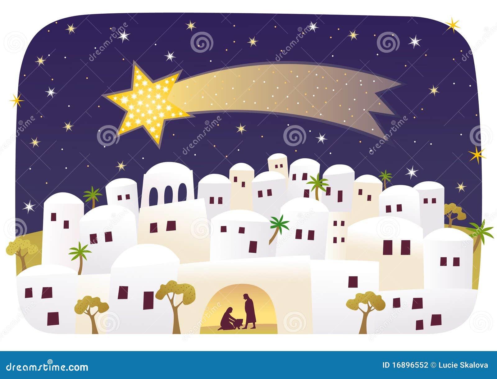 Geboorte van Jesus in Bethlehem