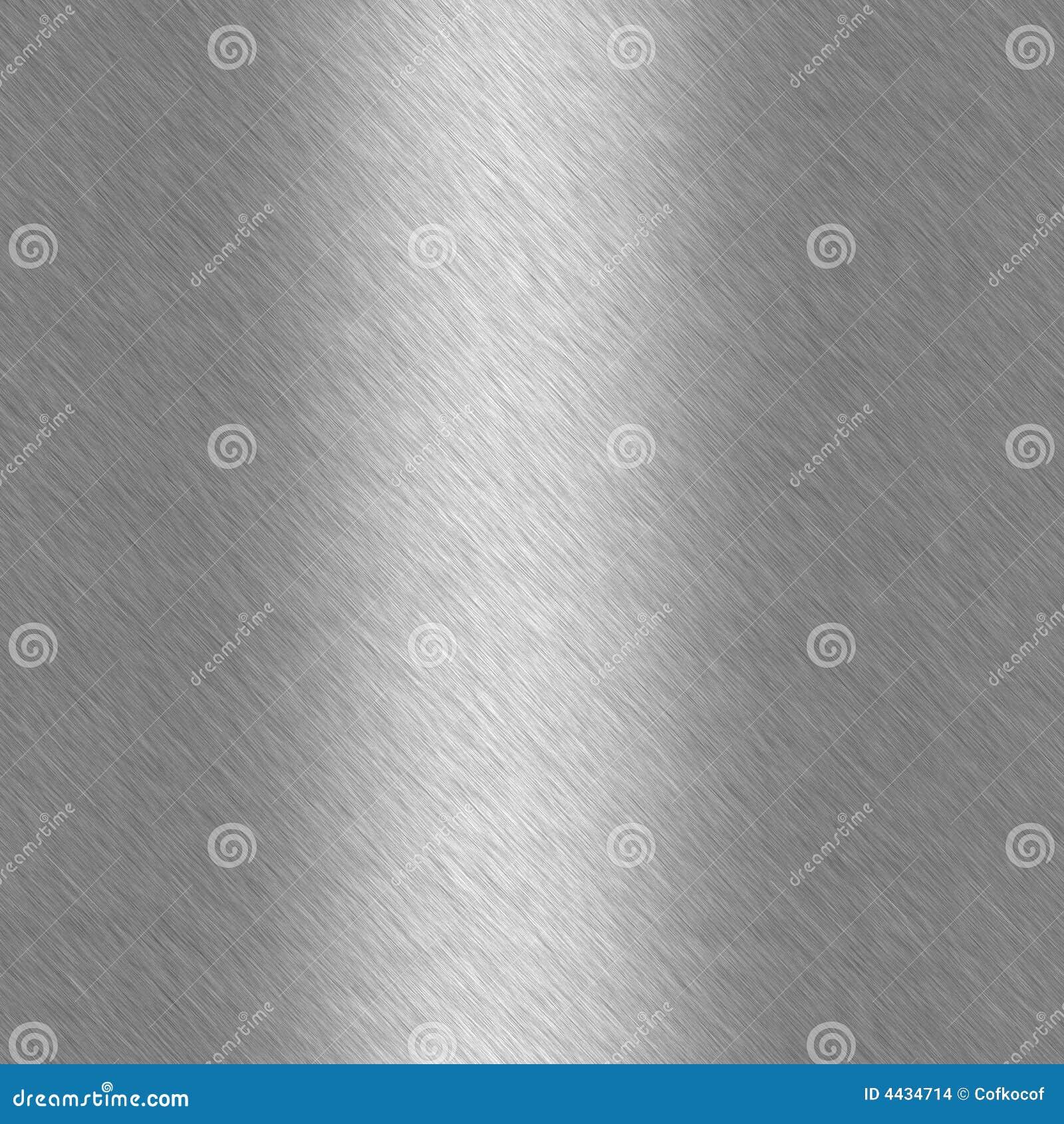 Geborsteld aluminium met hoogtepunt