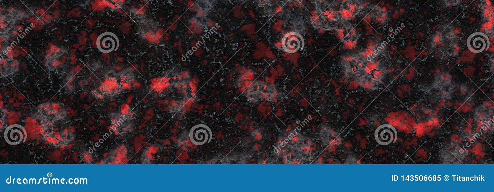Gebrannte glühende Oberfläche der Holzkohle der Kohlen Abstraktes Natur-Muster
