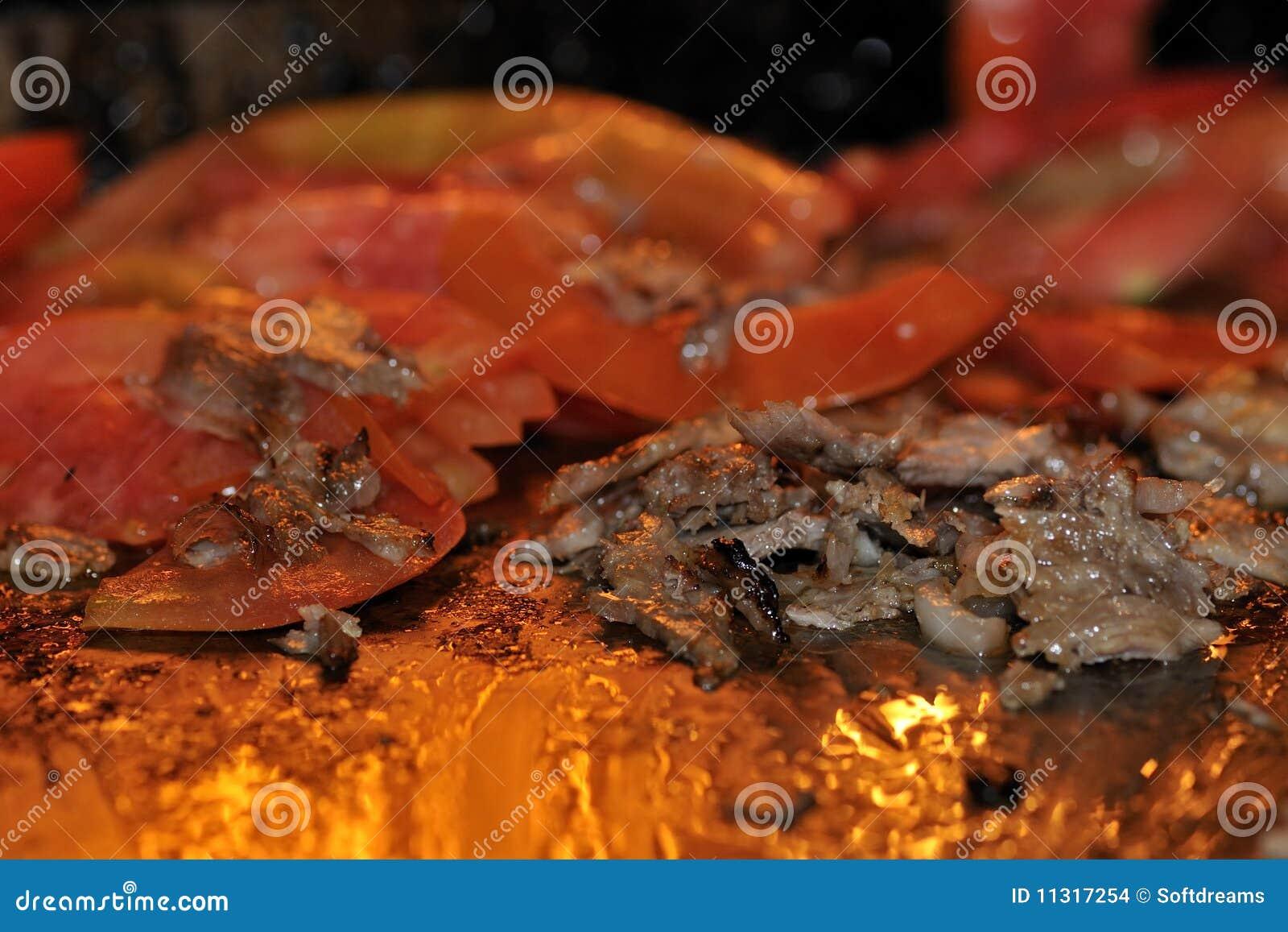 Gebratenes Fleisch