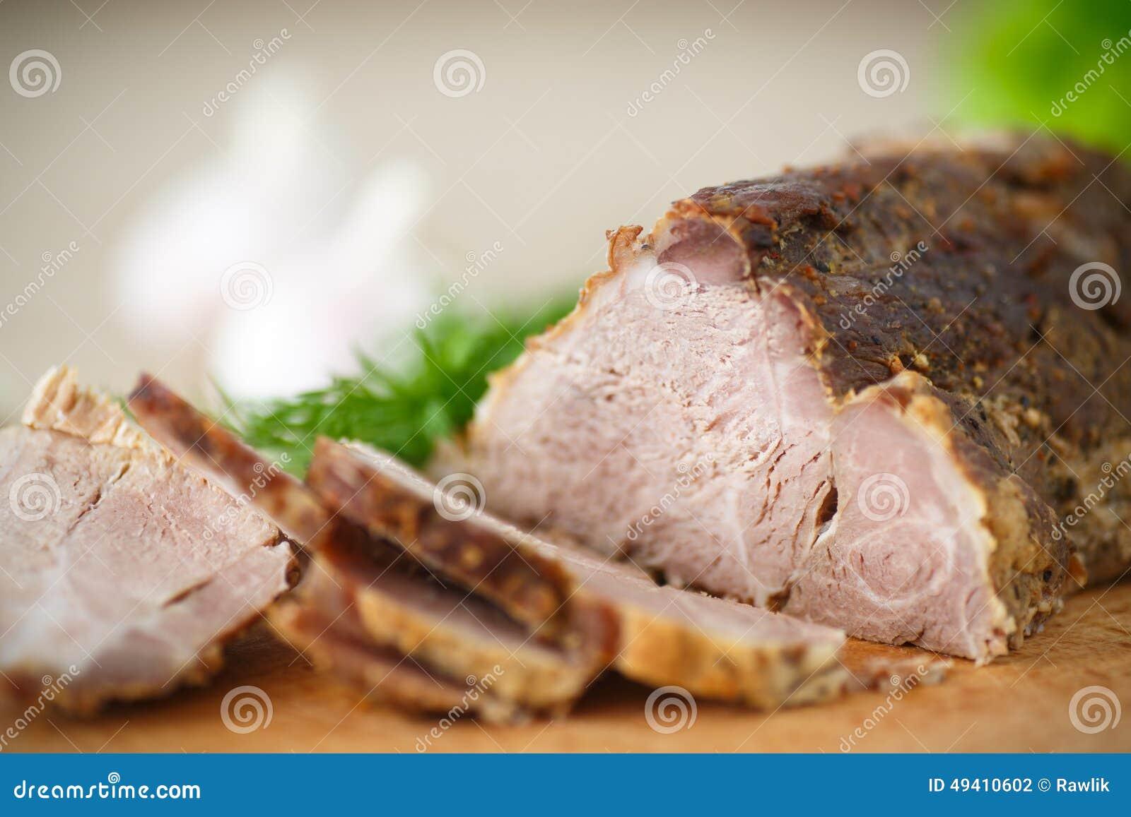 Download Gebratenes Fleisch stockfoto. Bild von verkleidung, lamm - 49410602