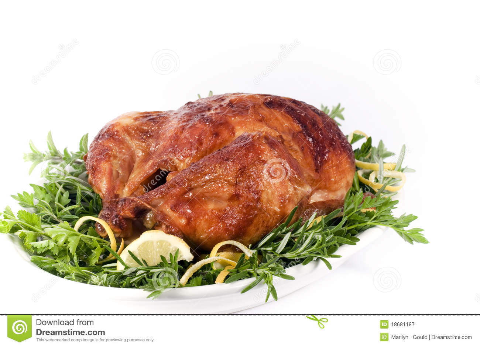Gebratenes Huhn