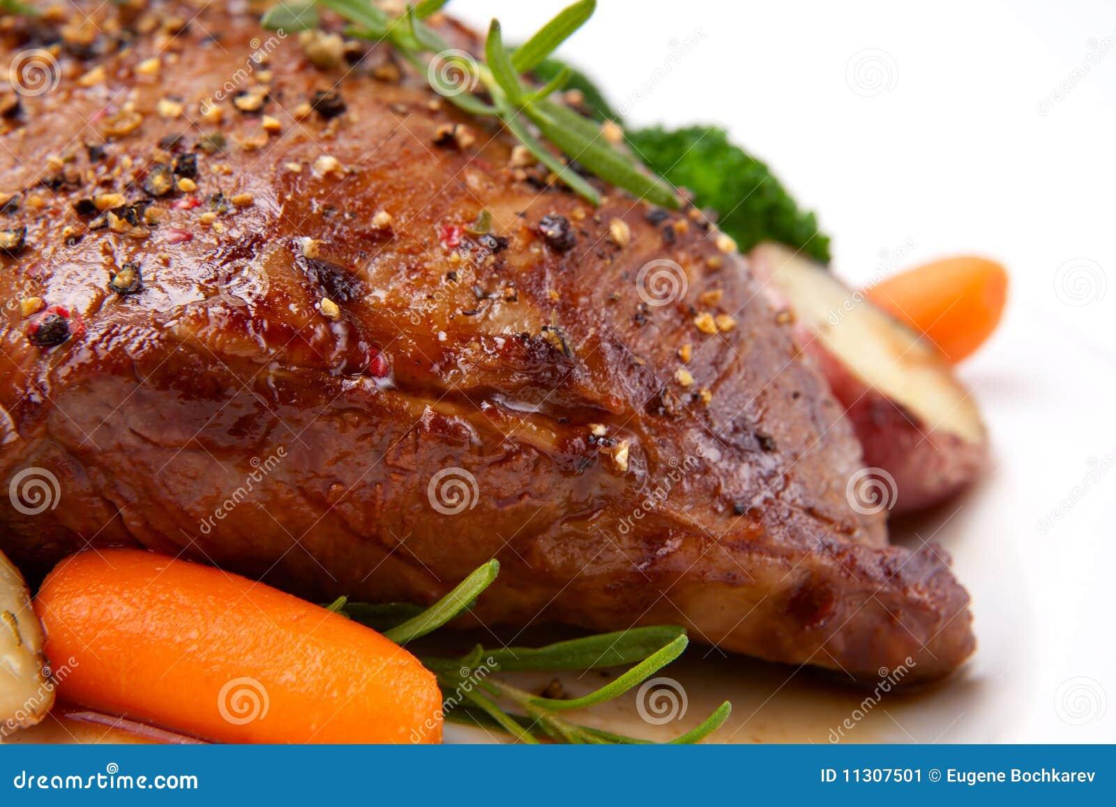 Gebratenes Rindfleisch