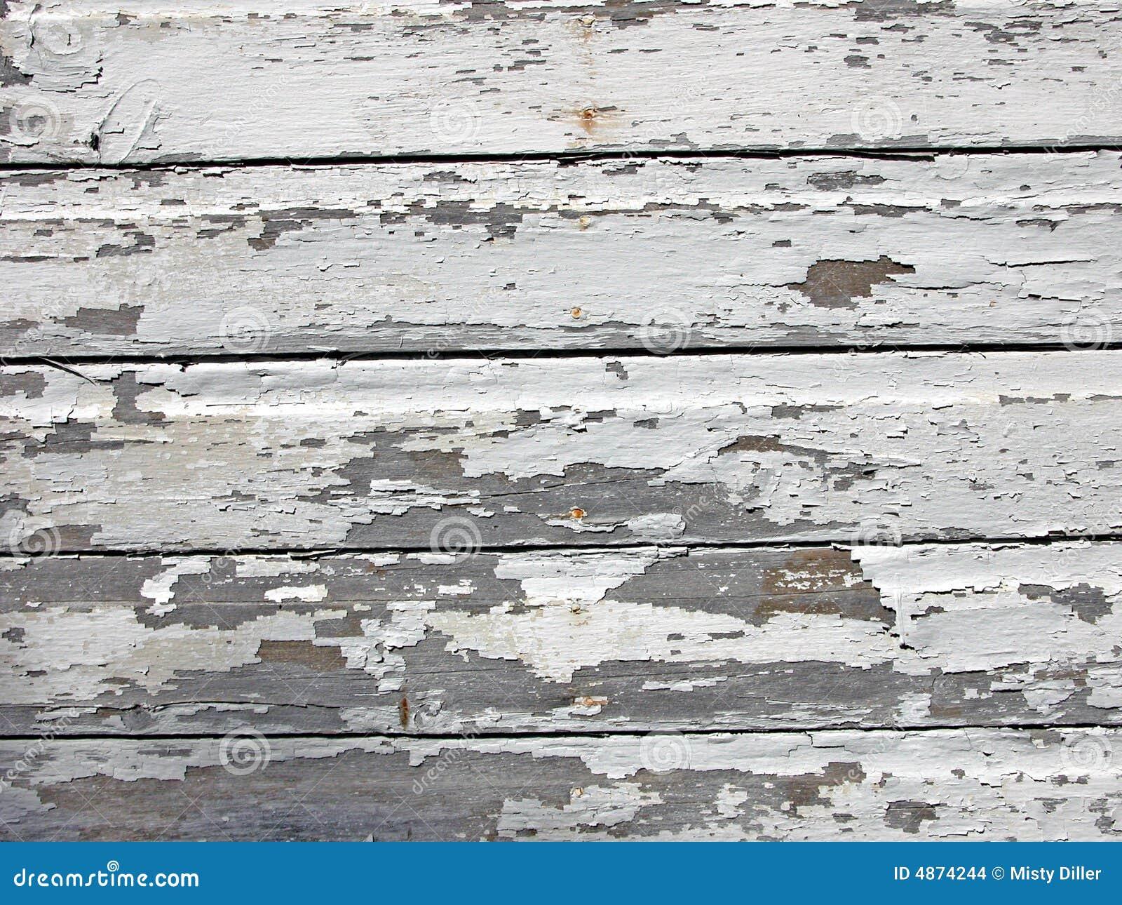 gebrochener lack auf holz stockbilder bild 4874244. Black Bedroom Furniture Sets. Home Design Ideas